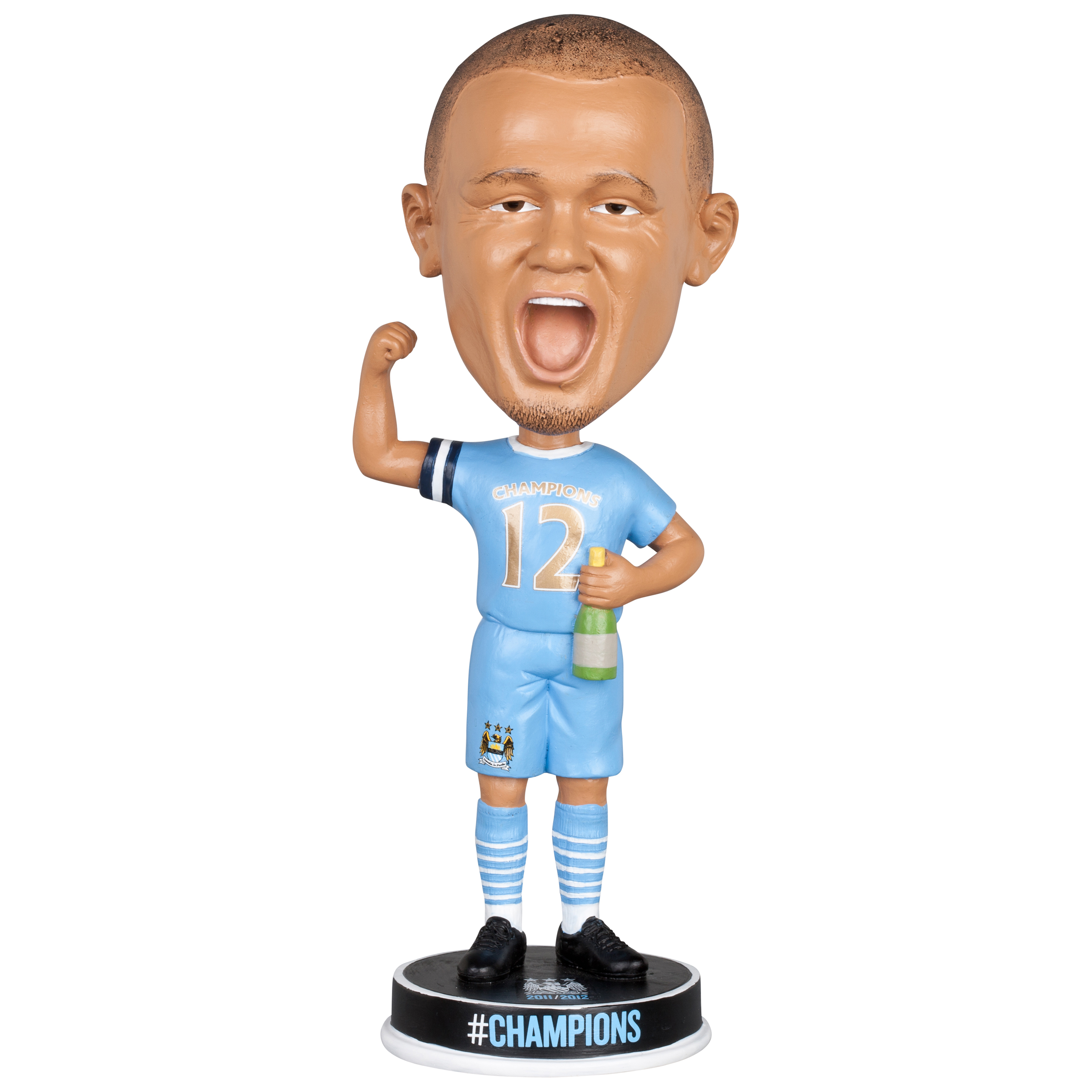 Manchester City #Champions 11/12 Kompany Bobble Head