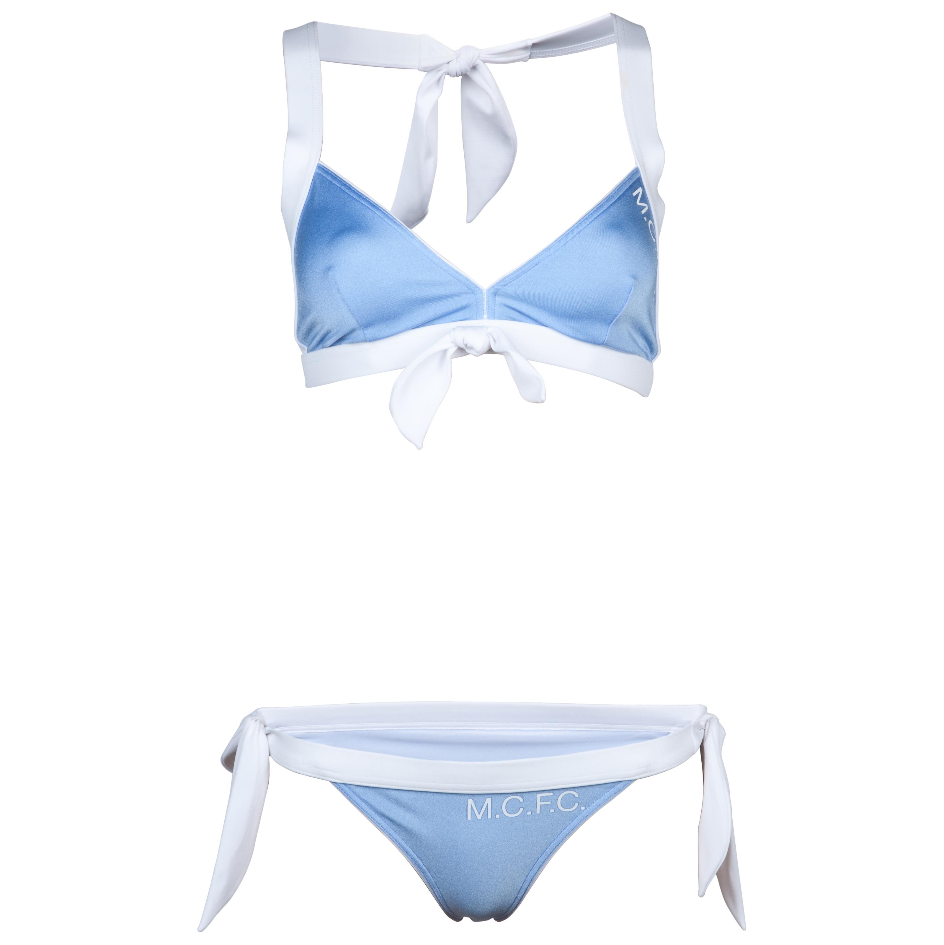 Manchester City Bikini - Sky/White - Womens