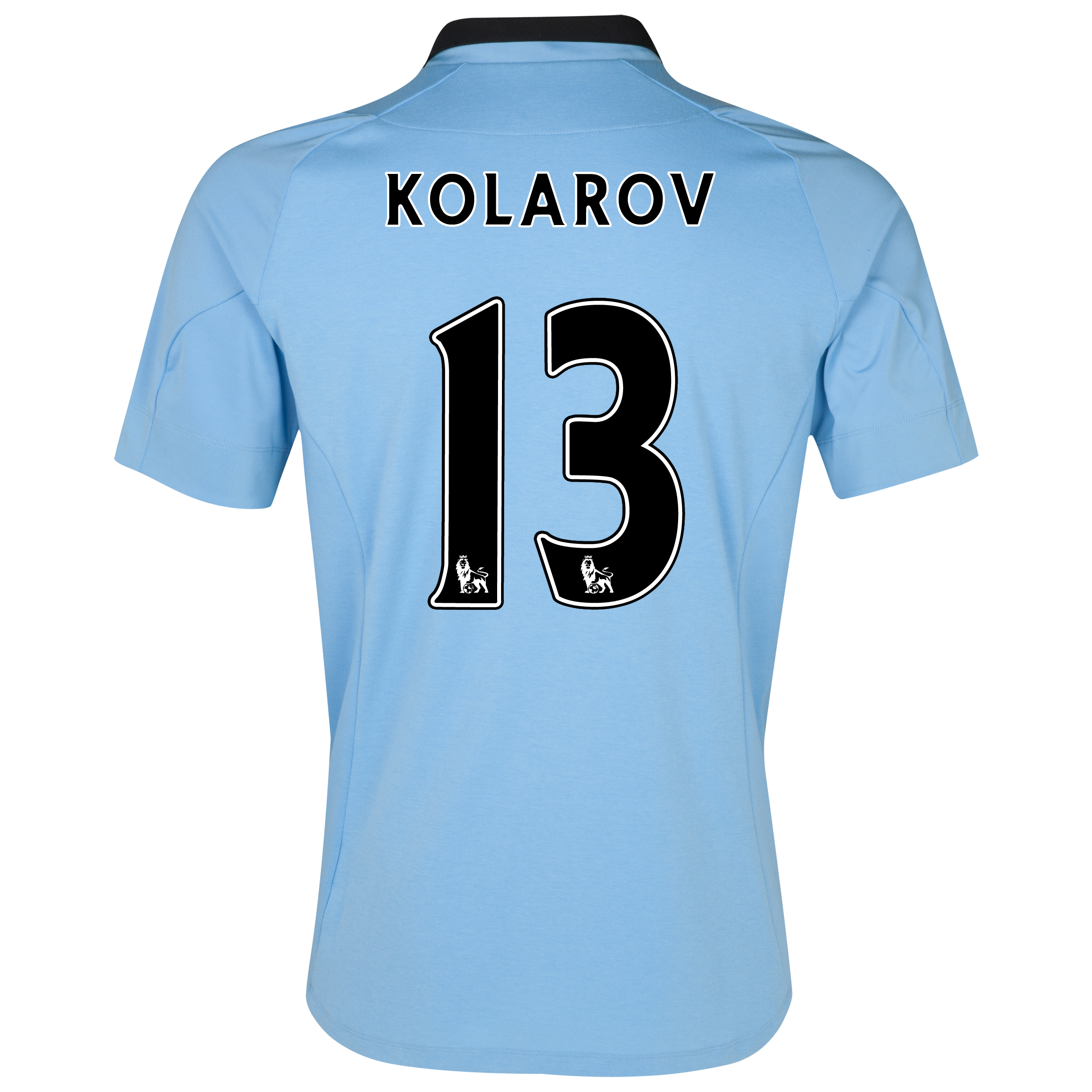 Manchester City Home Shirt 2012/13 with Kolarov 13 printing