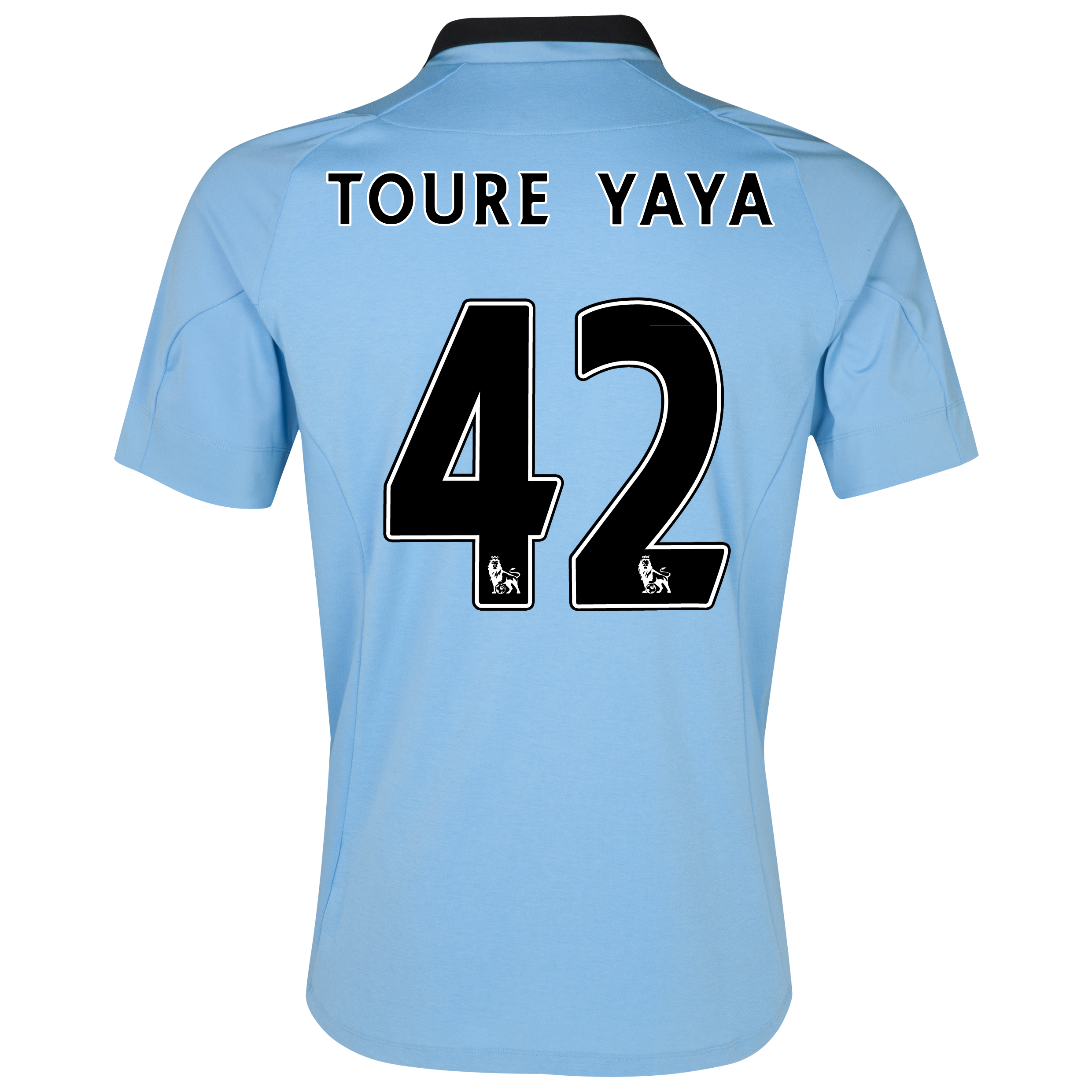 Manchester City Home Shirt 2012/13 with Toure Yaya 42 printing