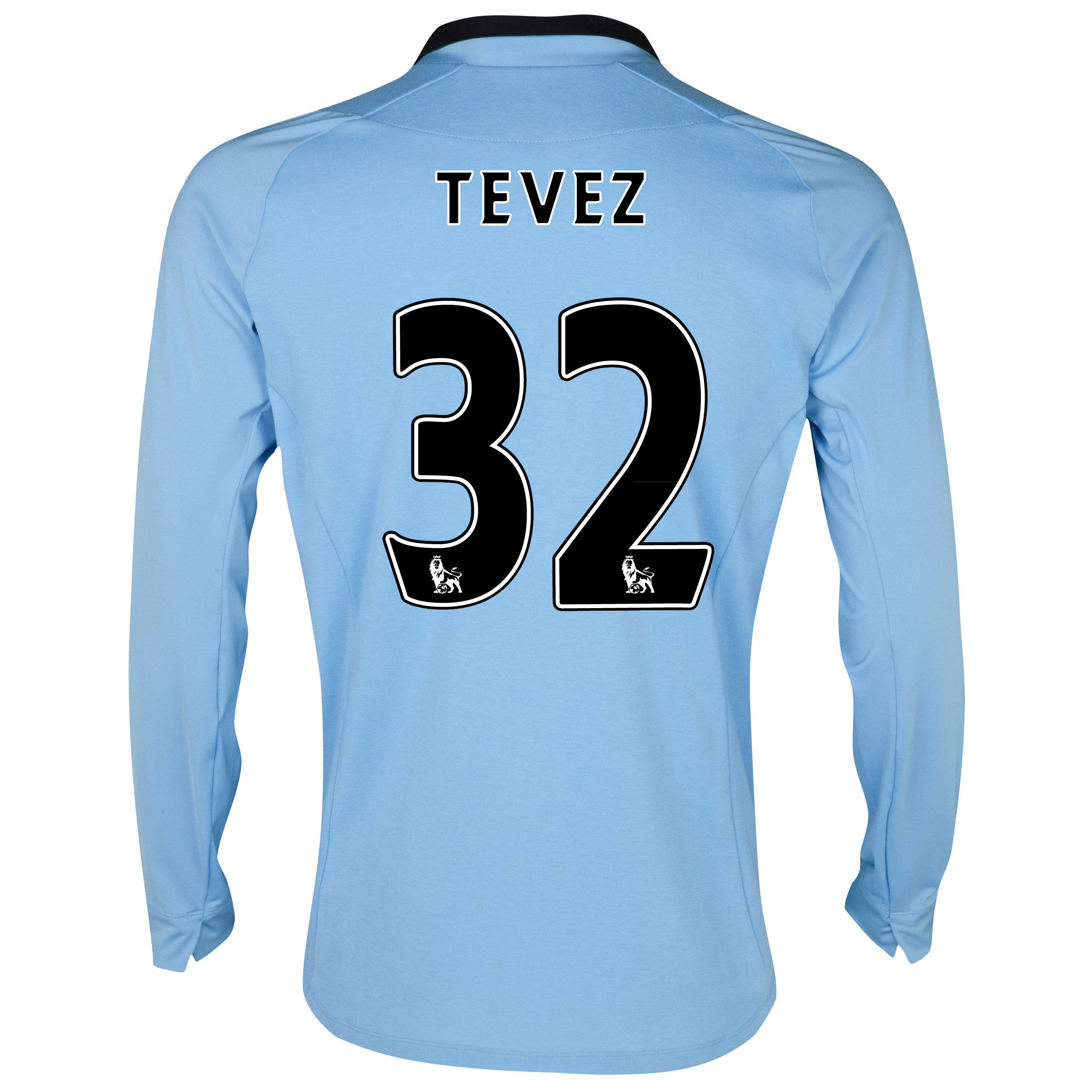 Manchester City Home Shirt 2012/13 - Long Sleeved