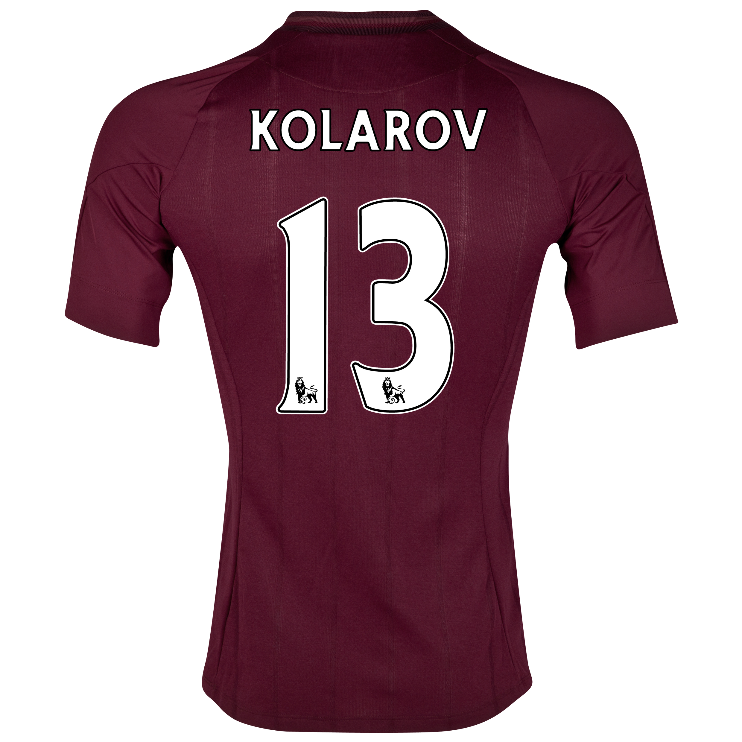 Manchester City Away Shirt 2012/13  - Junior with Kolarov 13 printing
