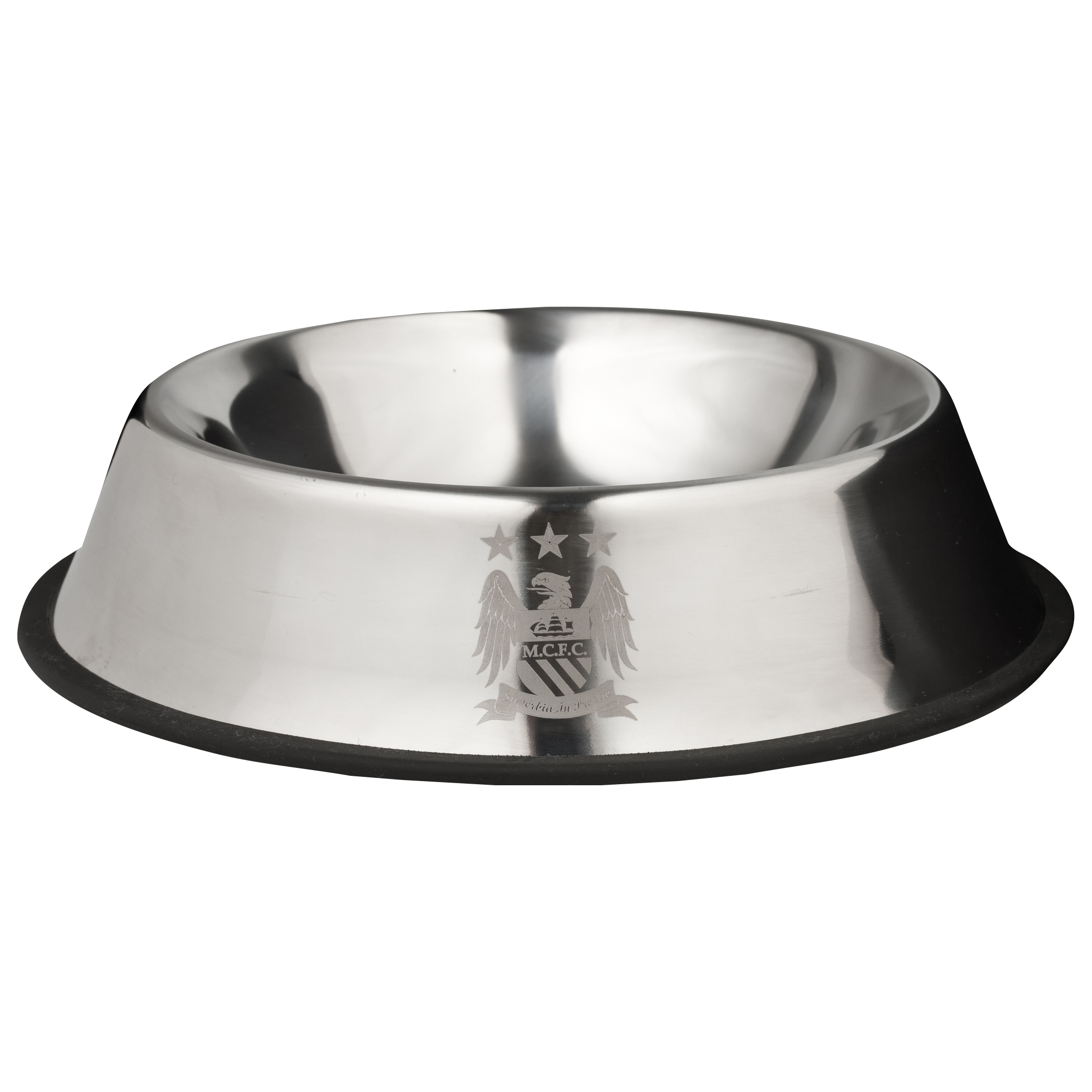 Manchester City Metal Pet Bowl