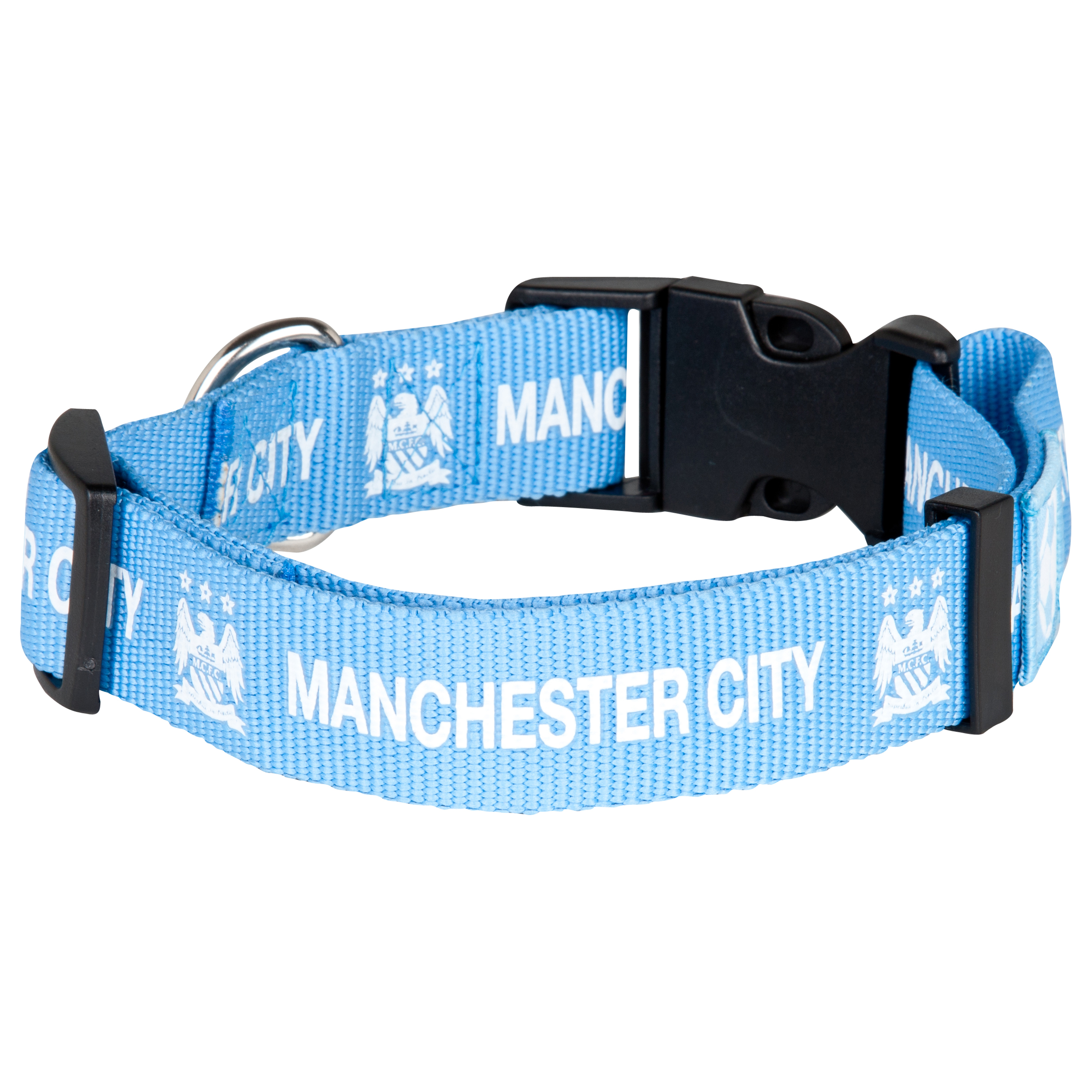 Manchester City Dog Collar