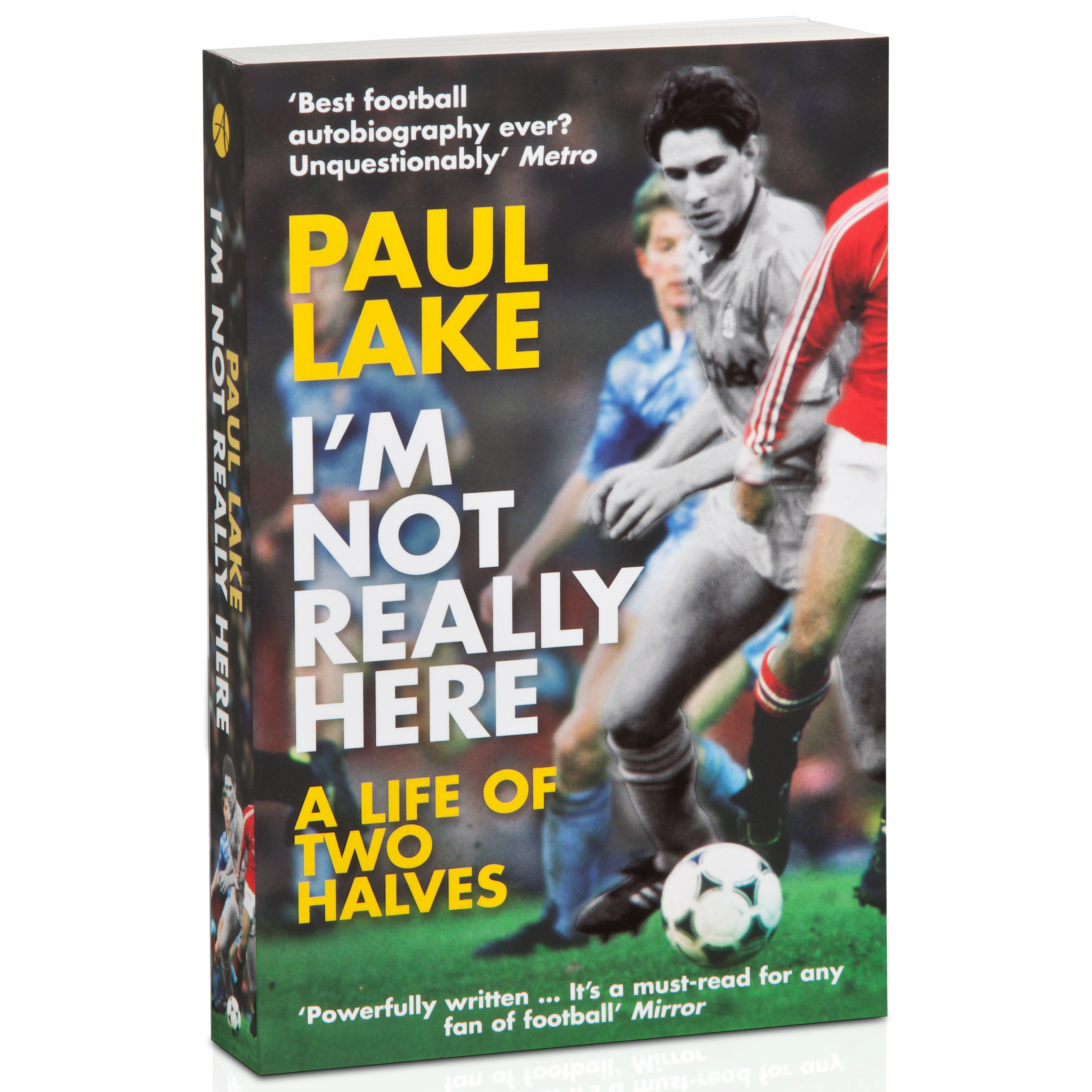Manchester City Iinchm Not Really Here Paul Lake Paperback Book