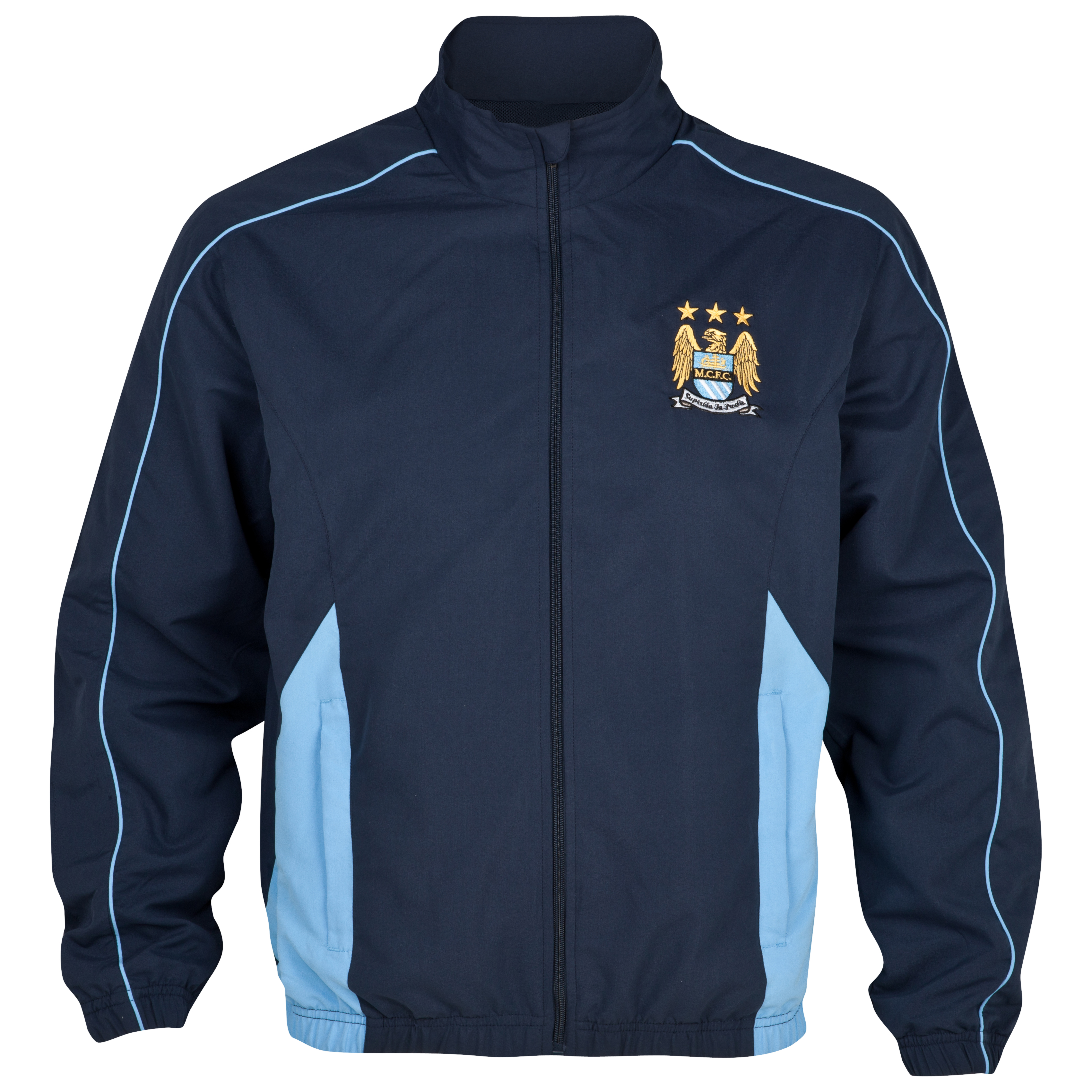 Manchester City Essential Gravity Track Top - Navy
