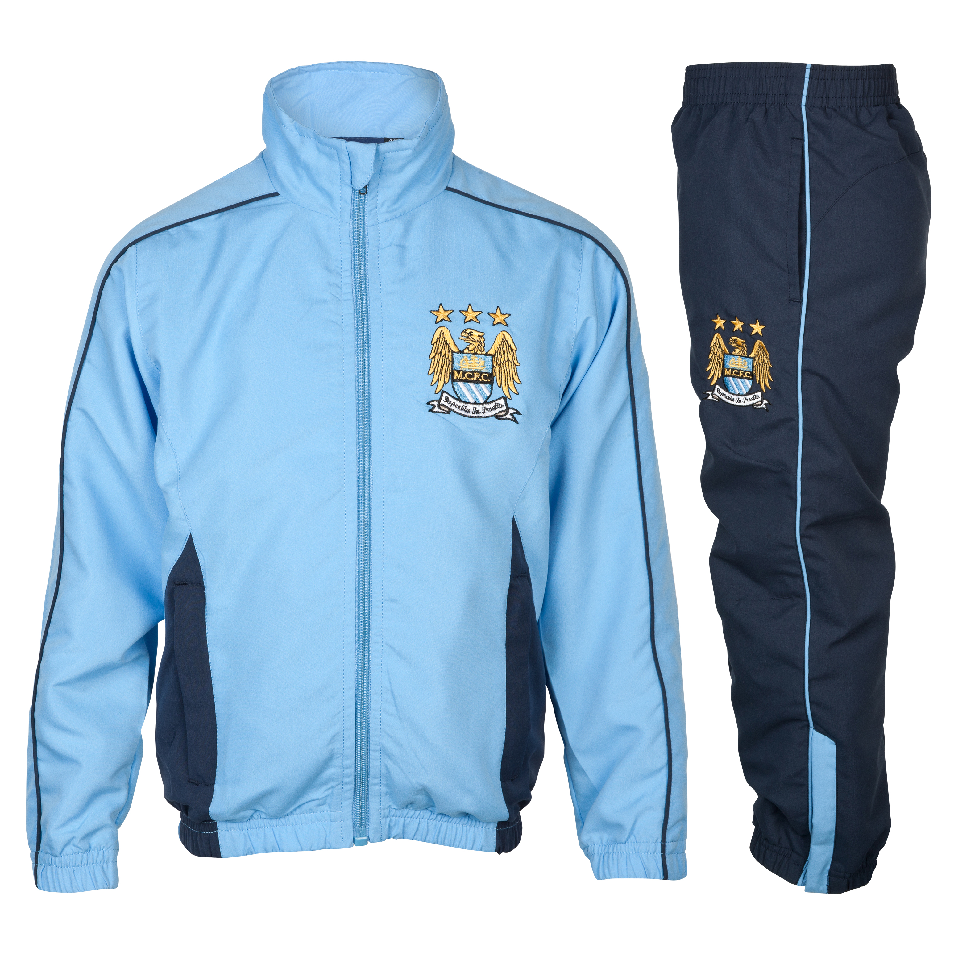 Manchester City Essential Compete Tracksuit - Navy - Infant Boys