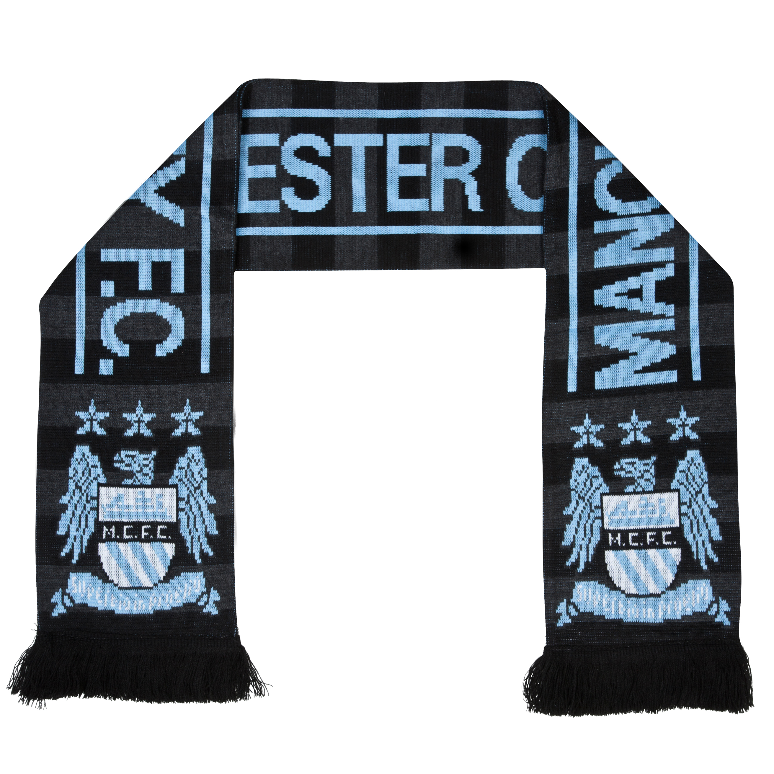 Manchester City Euro Kit Scarf