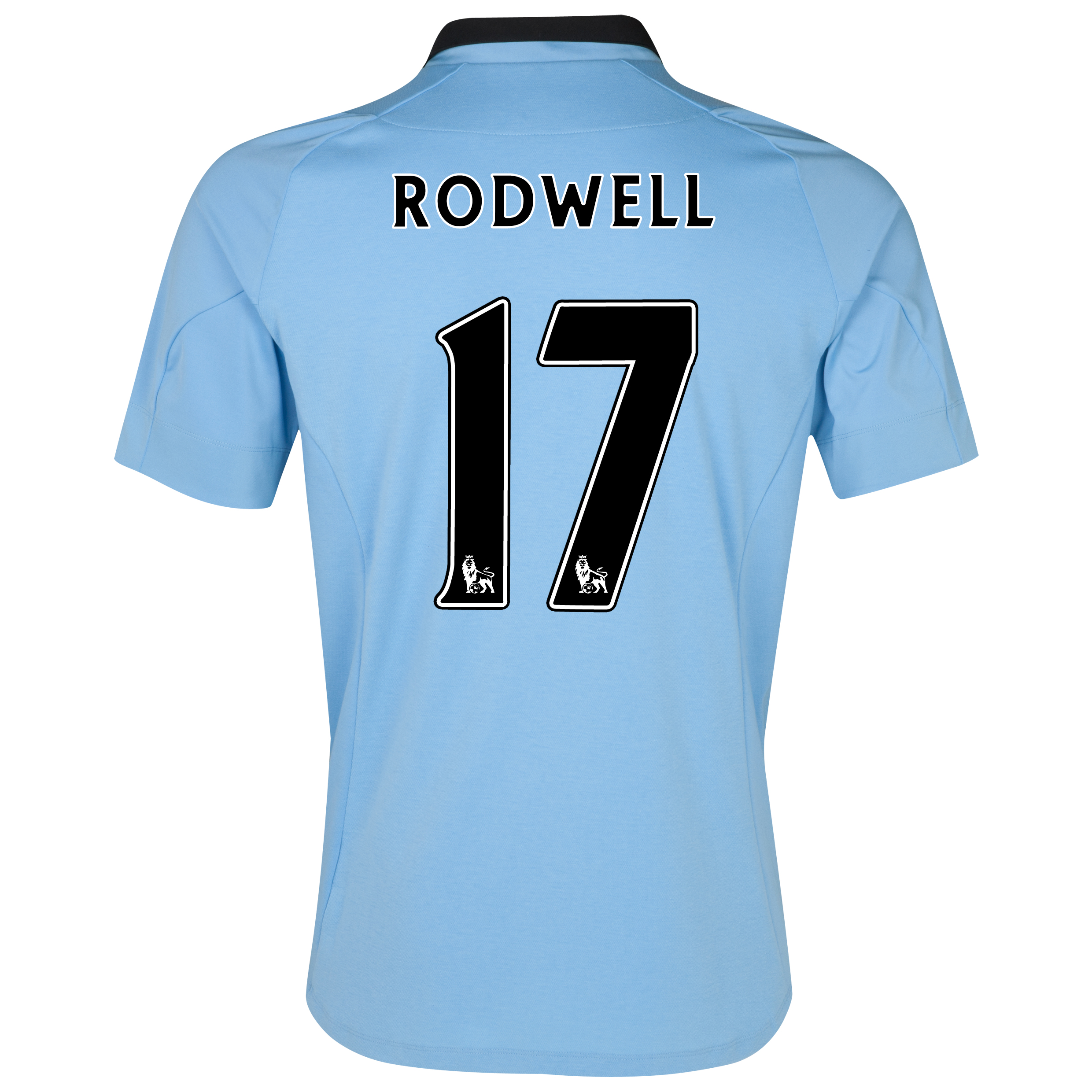 Manchester City Home Shirt 2012/13 with Rodwell 17 printing