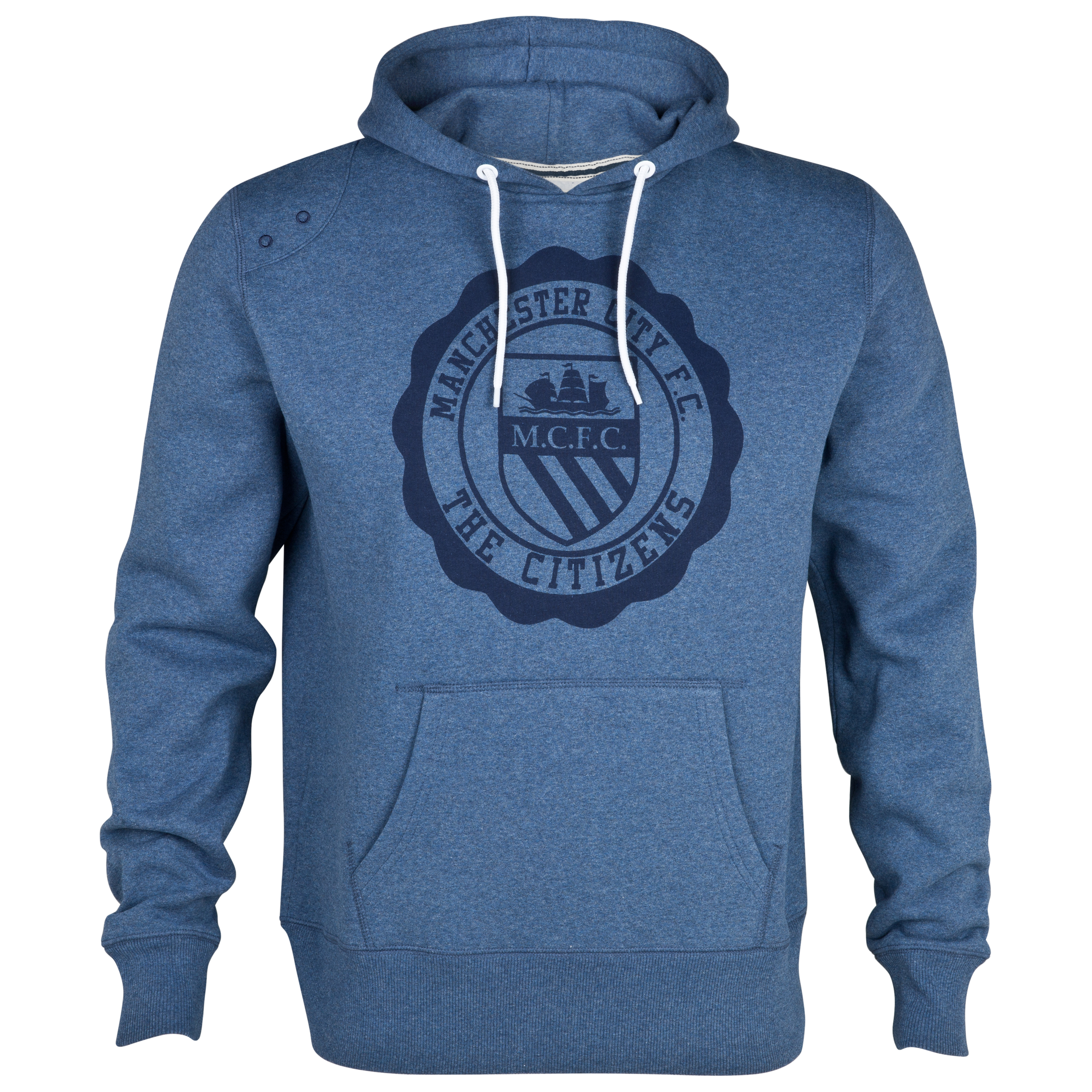 Manchester City Blaze Hoodie - Denim Marl