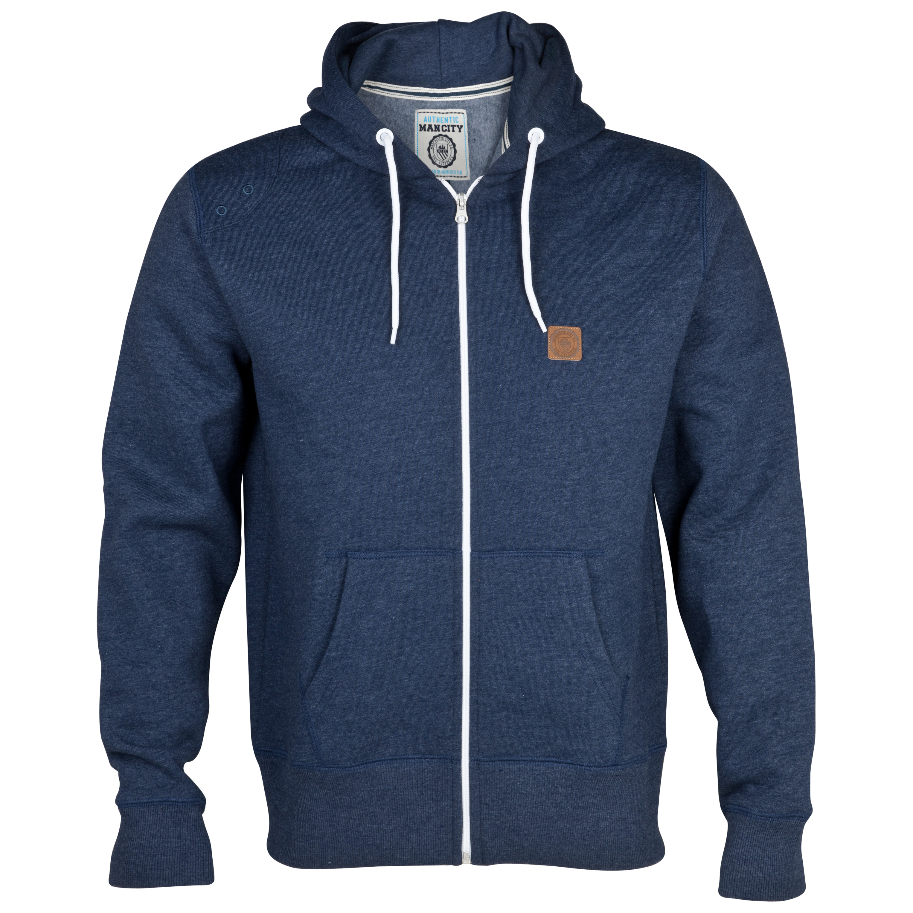Manchester City Marco Hoodie - Navy Marl