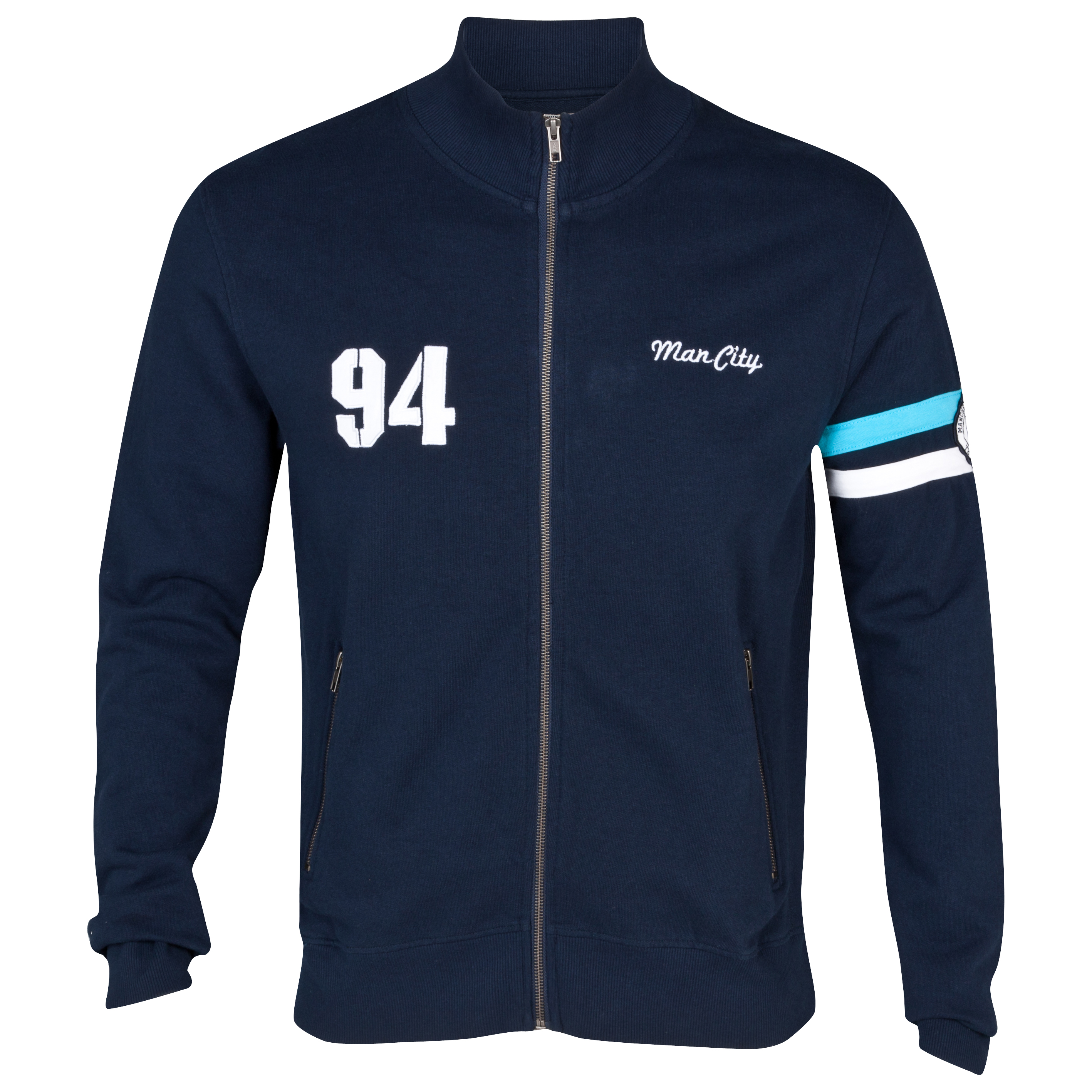 Manchester City Dune Track Top - Navy