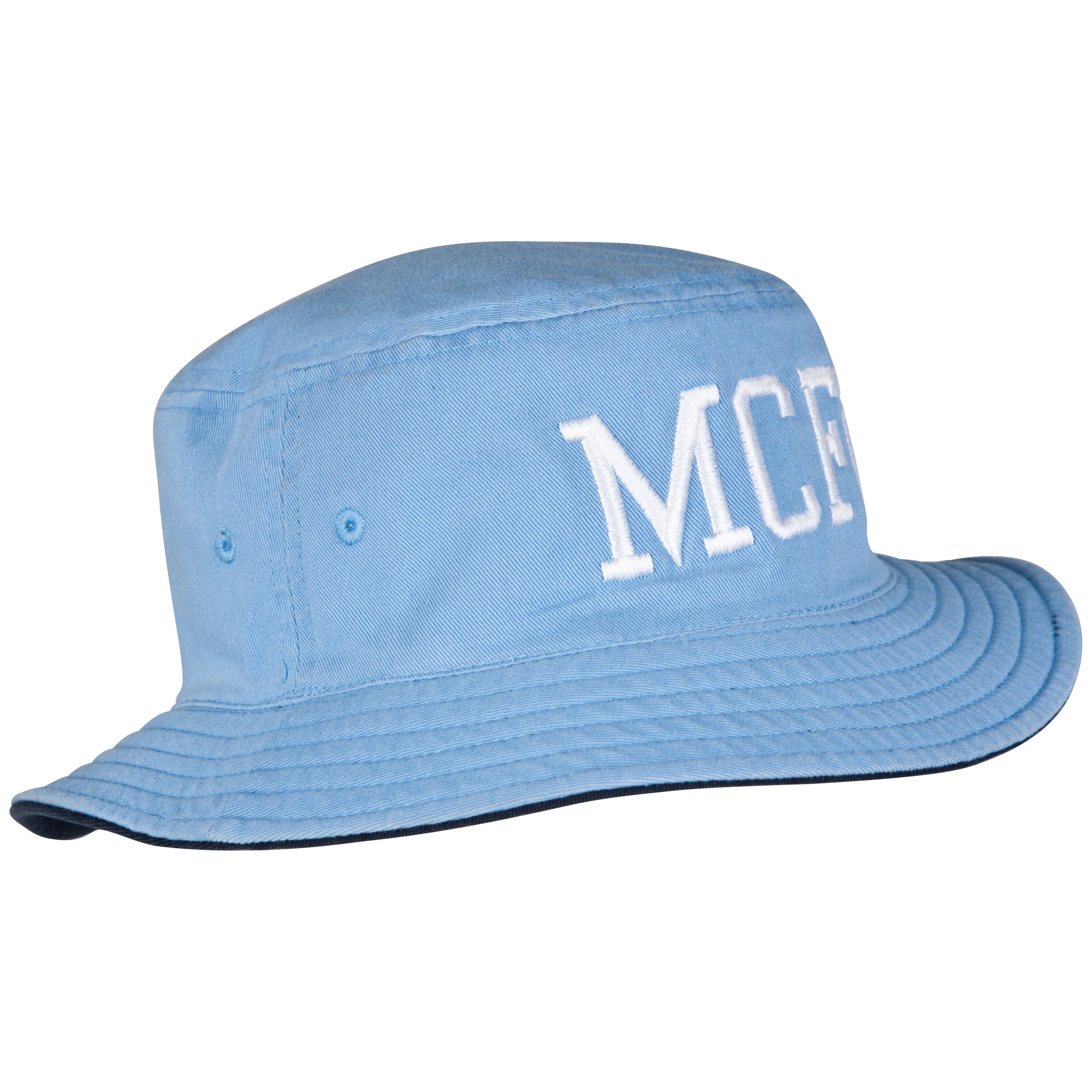 Manchester City Sideline Hat - Navy/Sky - Junior