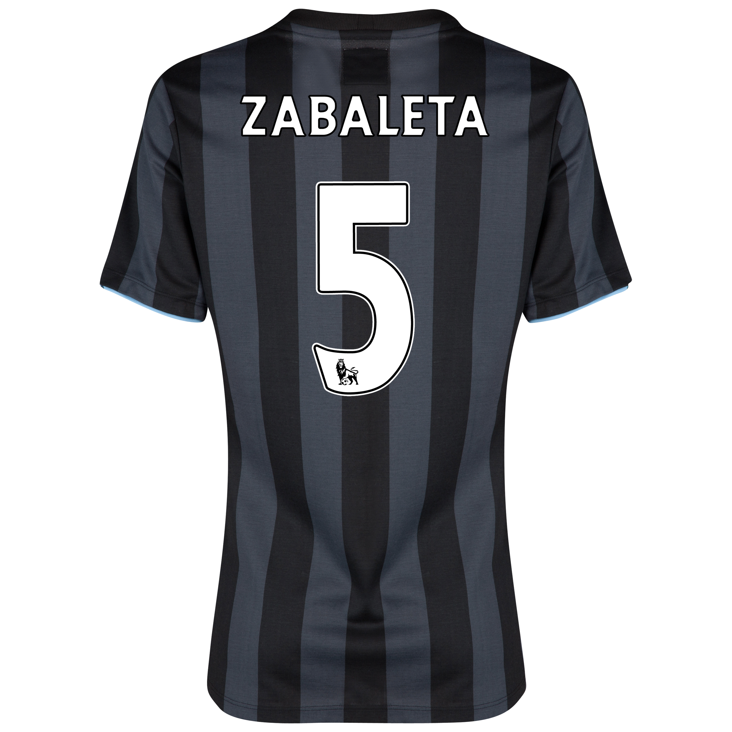 Manchester City Third Shirt 2012/13 - Womens with (FAPL) Zabaleta 5 printing