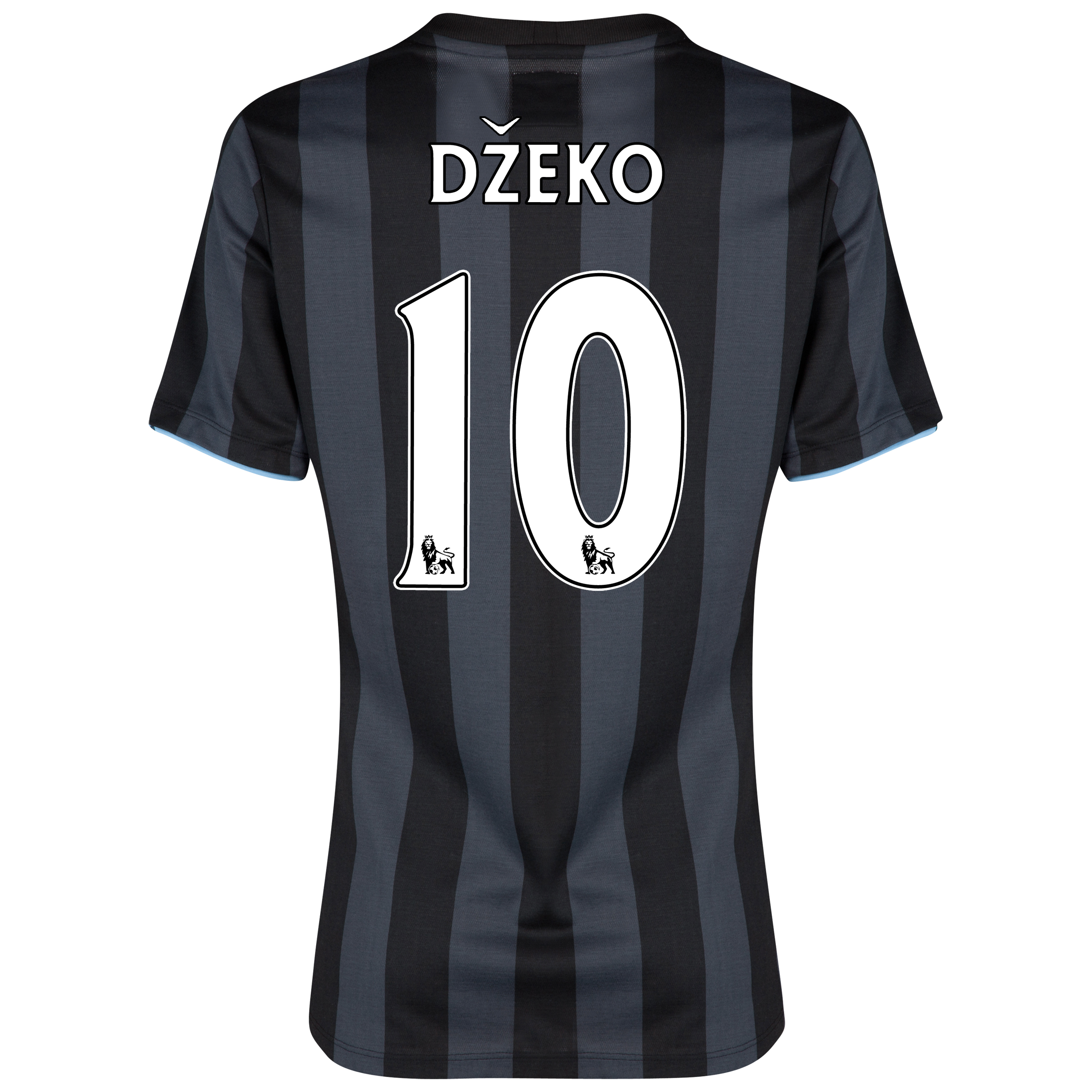 Manchester City Third Shirt 2012/13 - Womens with (FAPL) Dzeko 10 printing