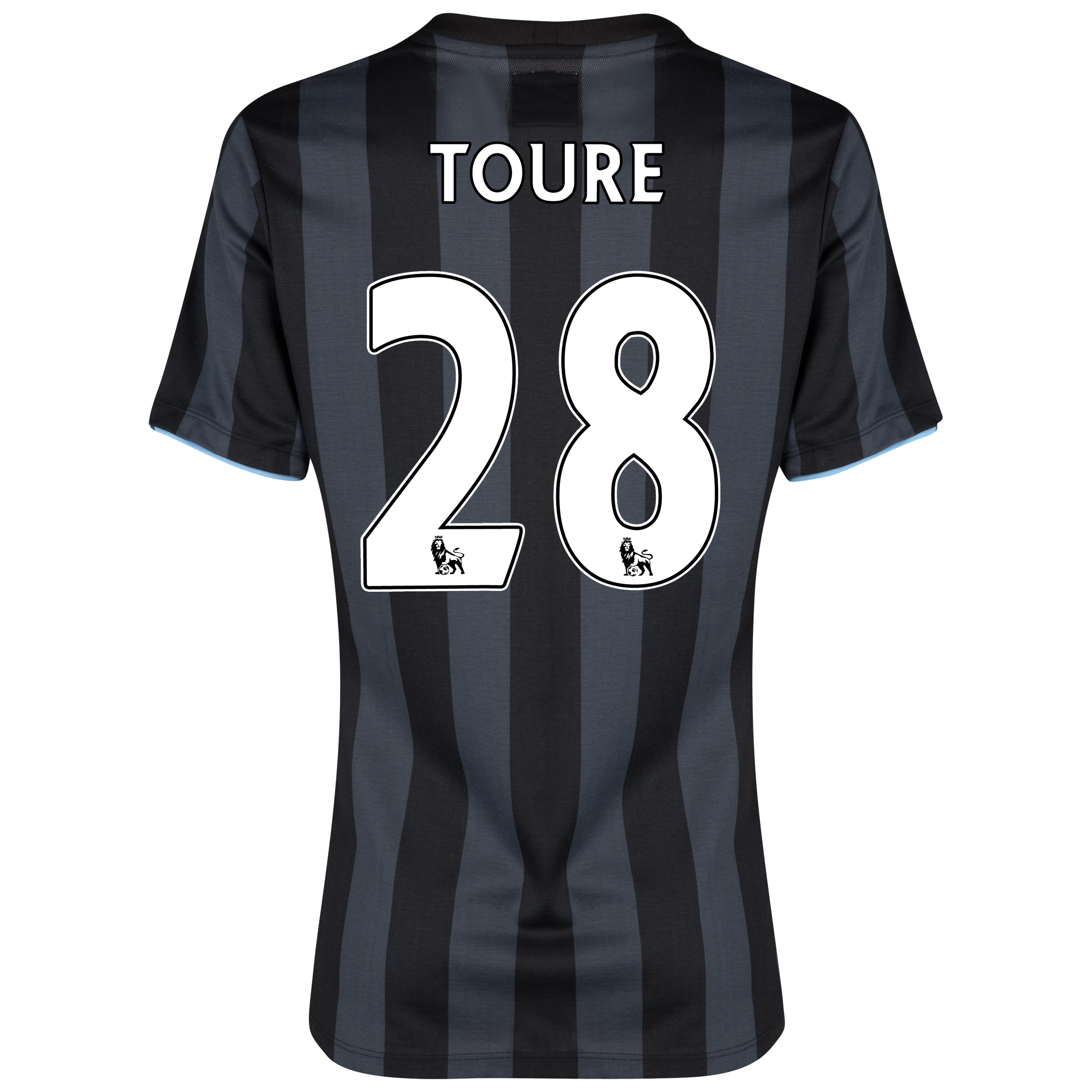 Manchester City Third Shirt 2012/13 - Womens with (FAPL) Toure 28 printing