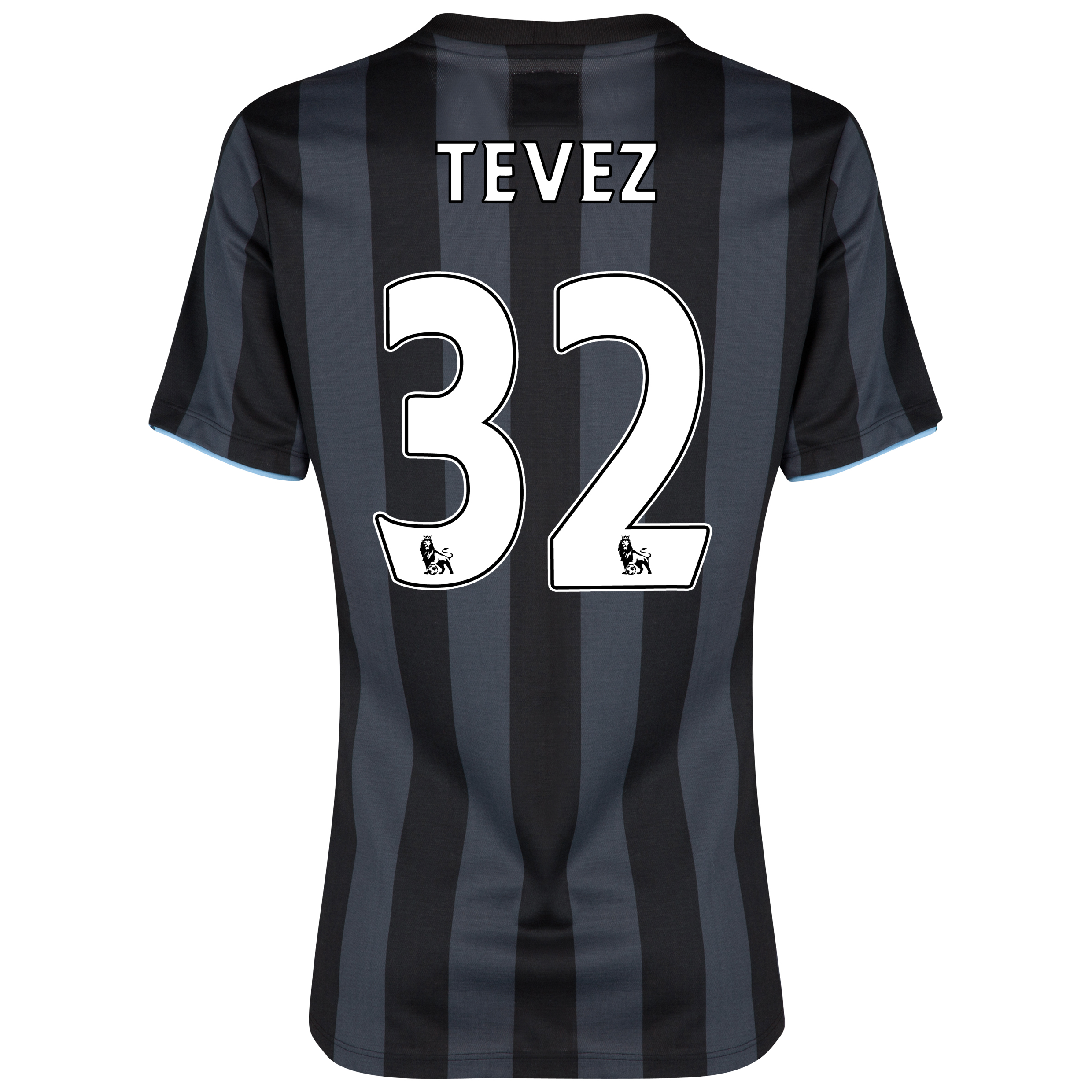 Manchester City Third Shirt 2012/13 - Womens with (FAPL) Tevez 32 printing