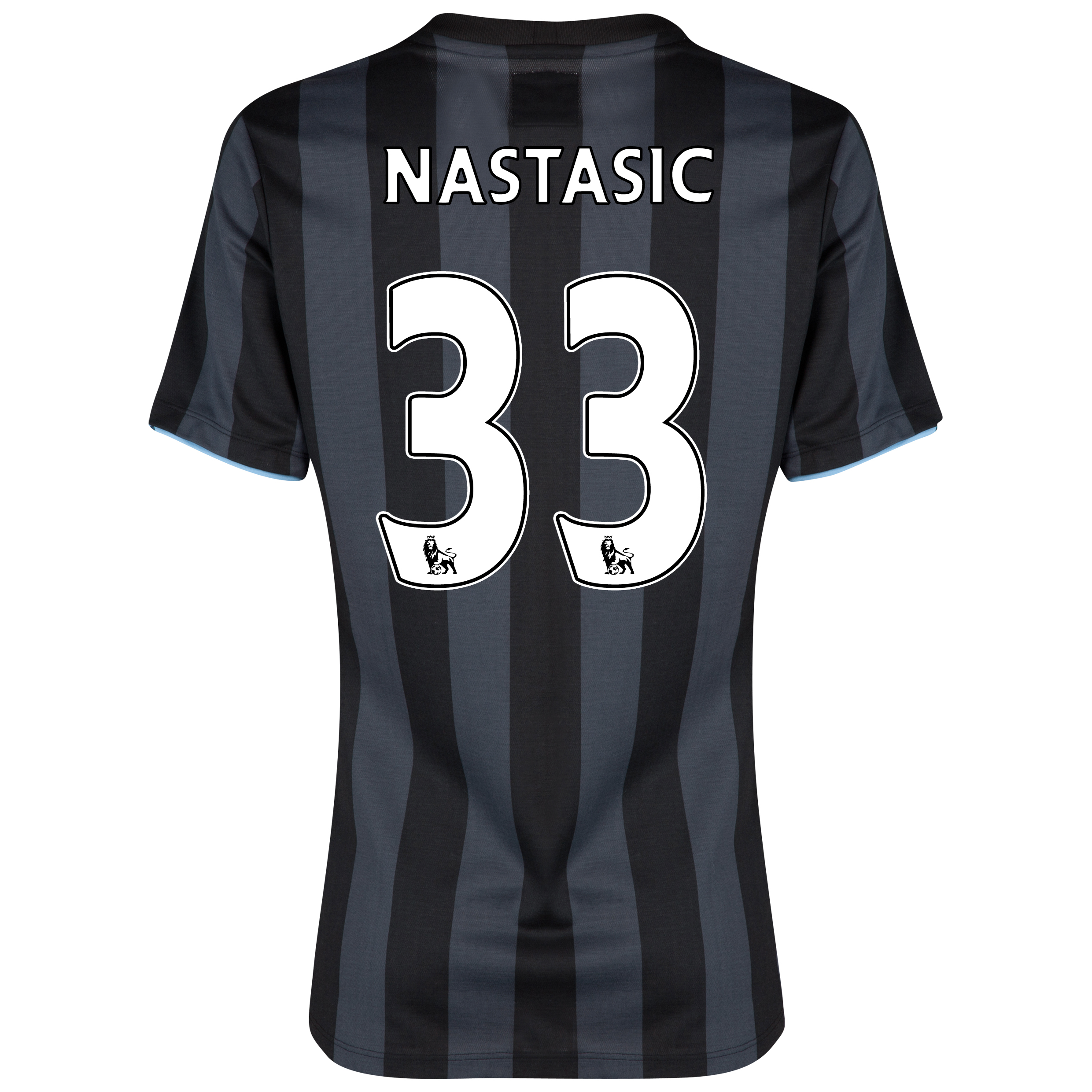 Manchester City Third Shirt 2012/13 - Womens with (FAPL) Nastasic 33 printing