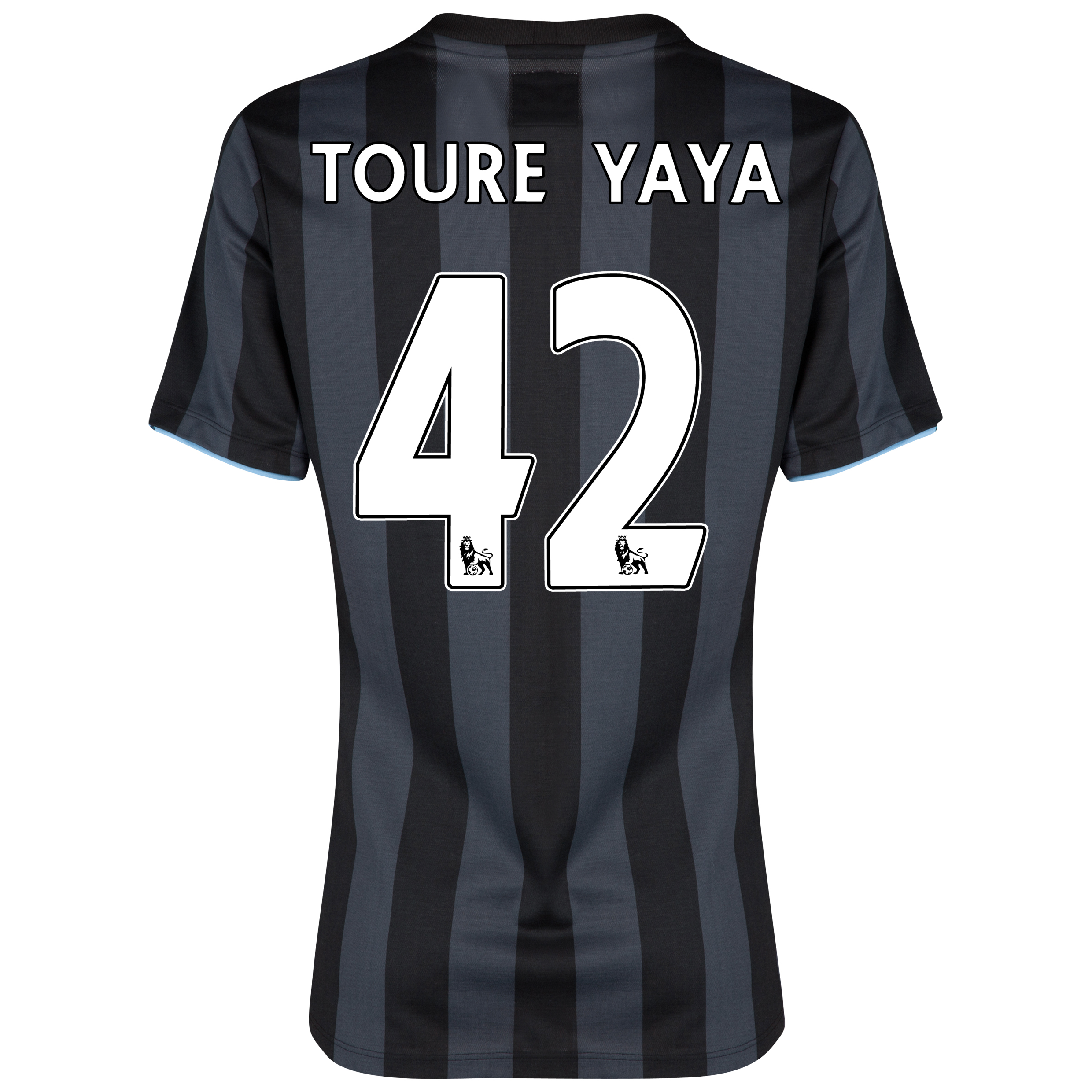 Manchester City Third Shirt 2012/13 - Womens with (FAPL) Toure Yaya 42 printing