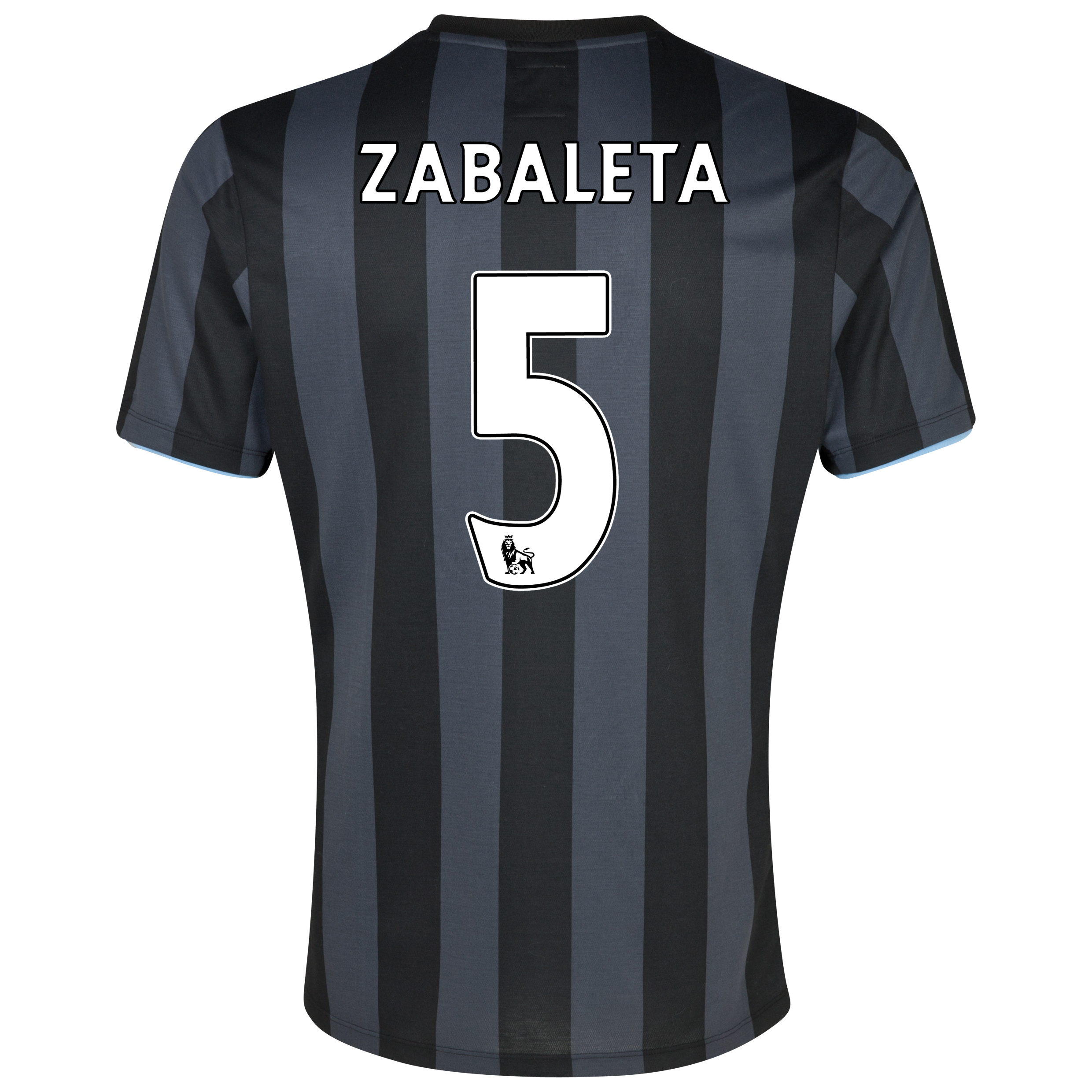 Manchester City Third Shirt 2012/13  - Junior with (FAPL) Zabaleta 5 printing