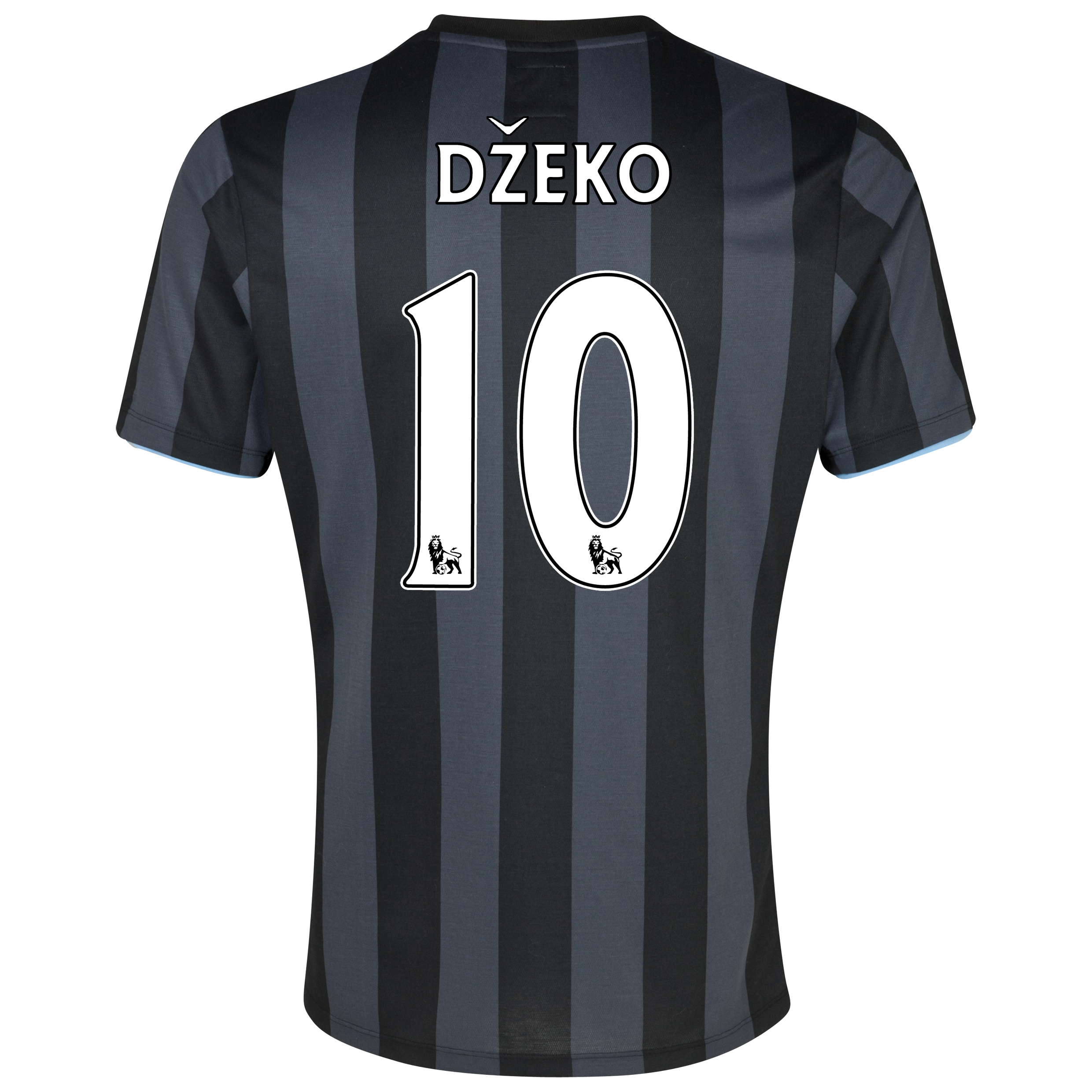 Manchester City Third Shirt 2012/13  - Junior with (FAPL) Dzeko 10 printing