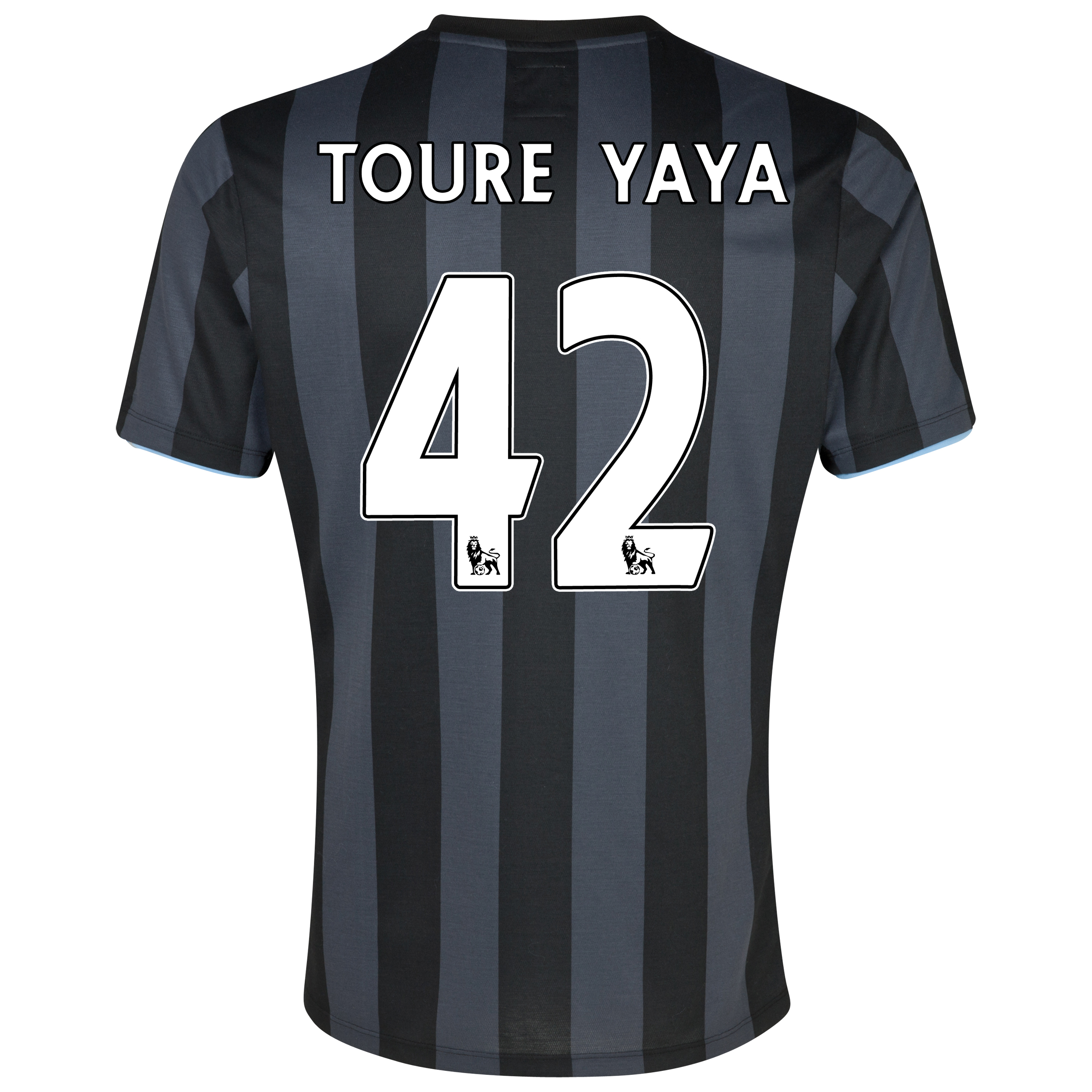Manchester City Third Shirt 2012/13  - Junior with (FAPL) Toure Yaya 42 printing