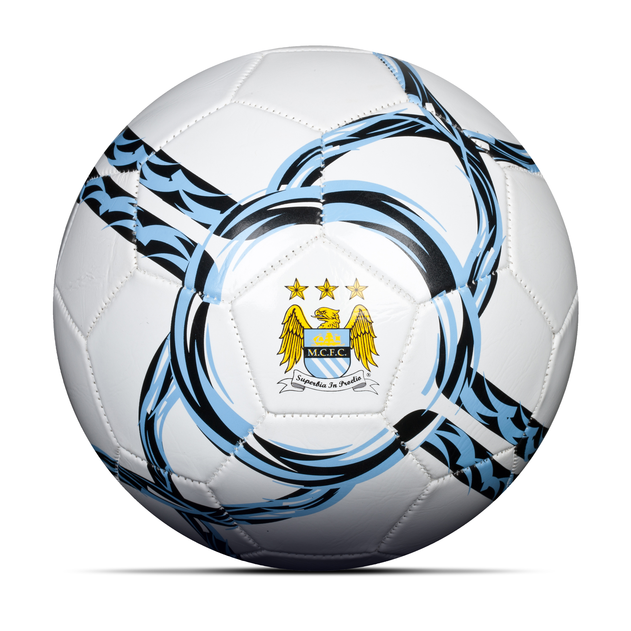 Manchester City Core Football - Size 5 - White