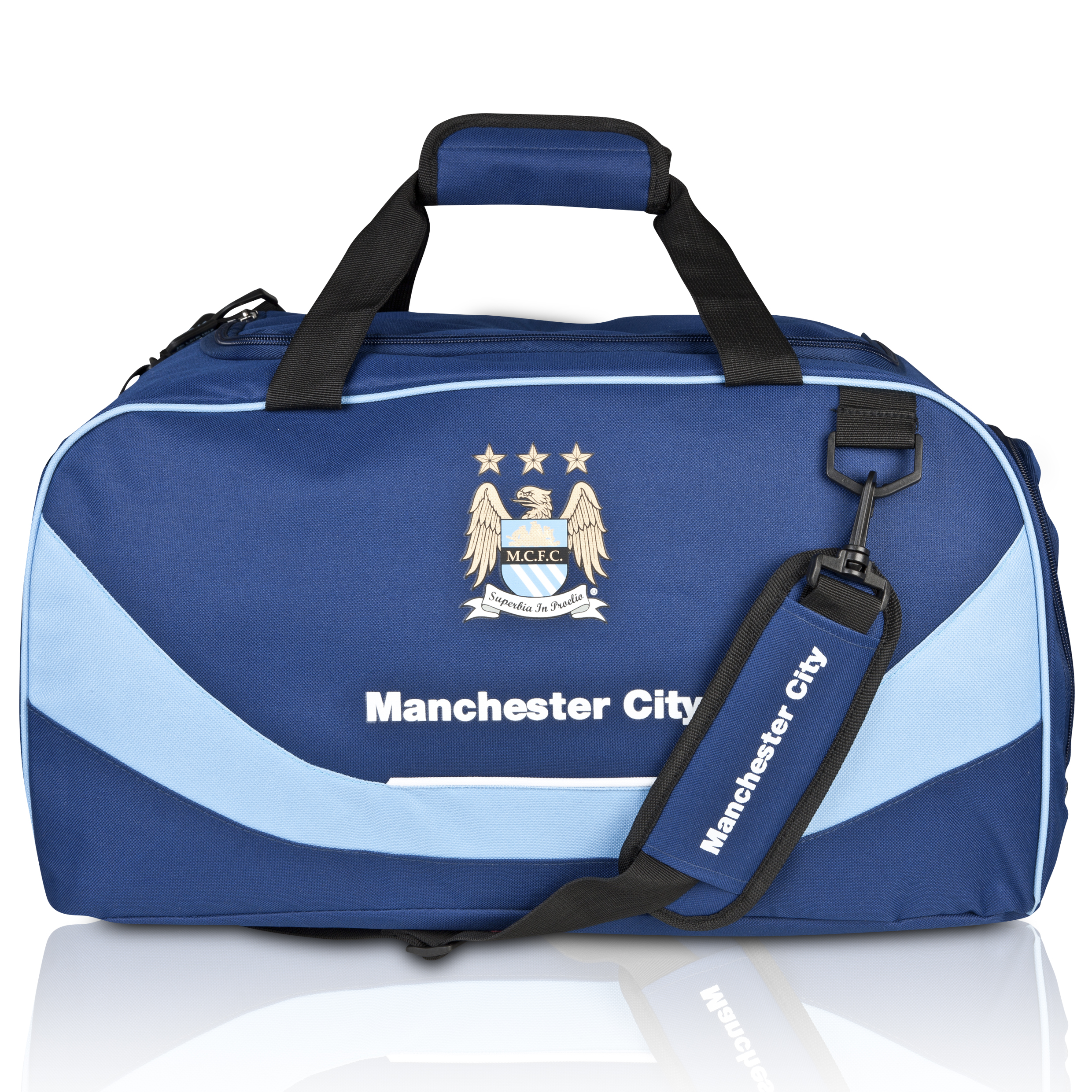 Manchester City Core Holdall - Navy