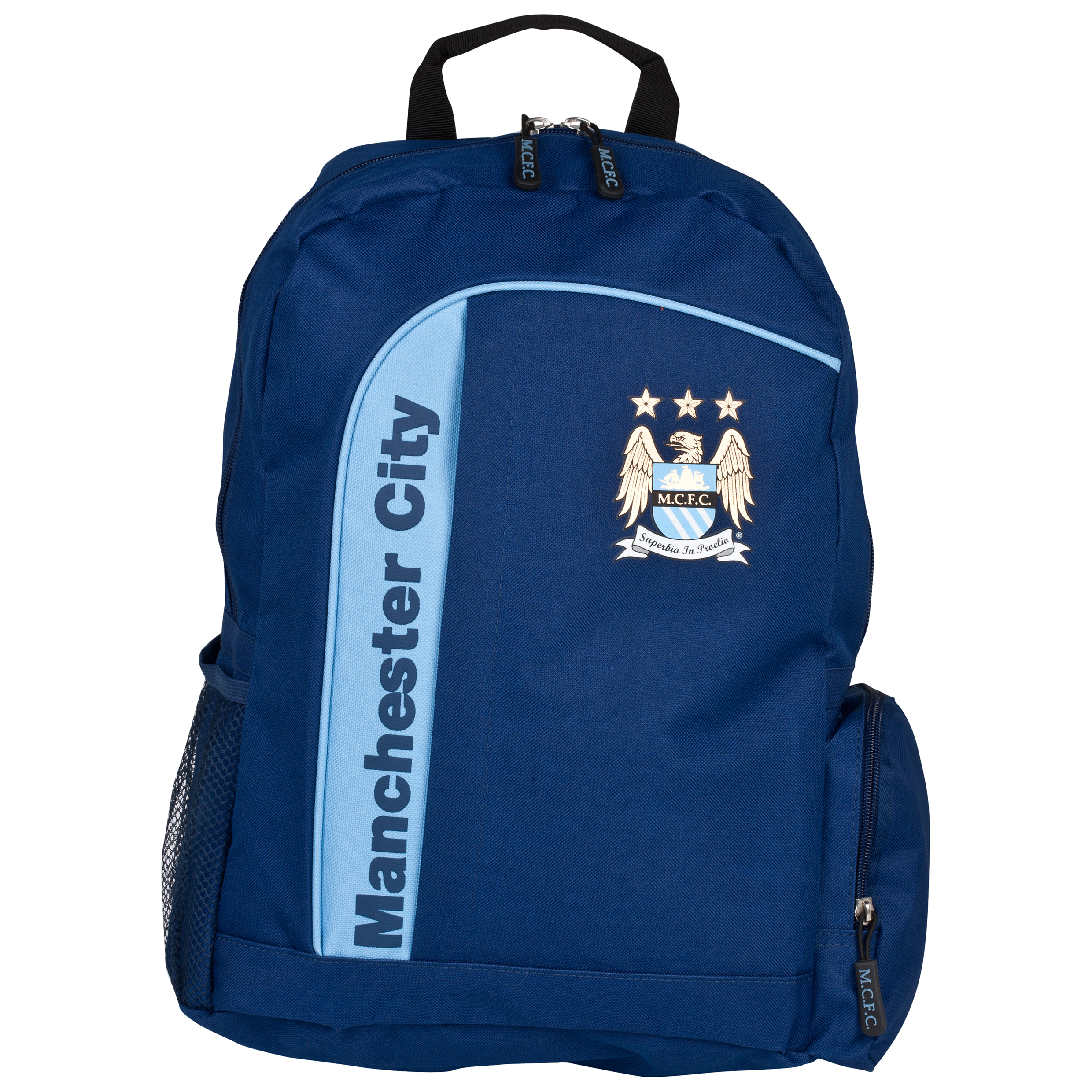 Manchester City Core Backpack - Navy