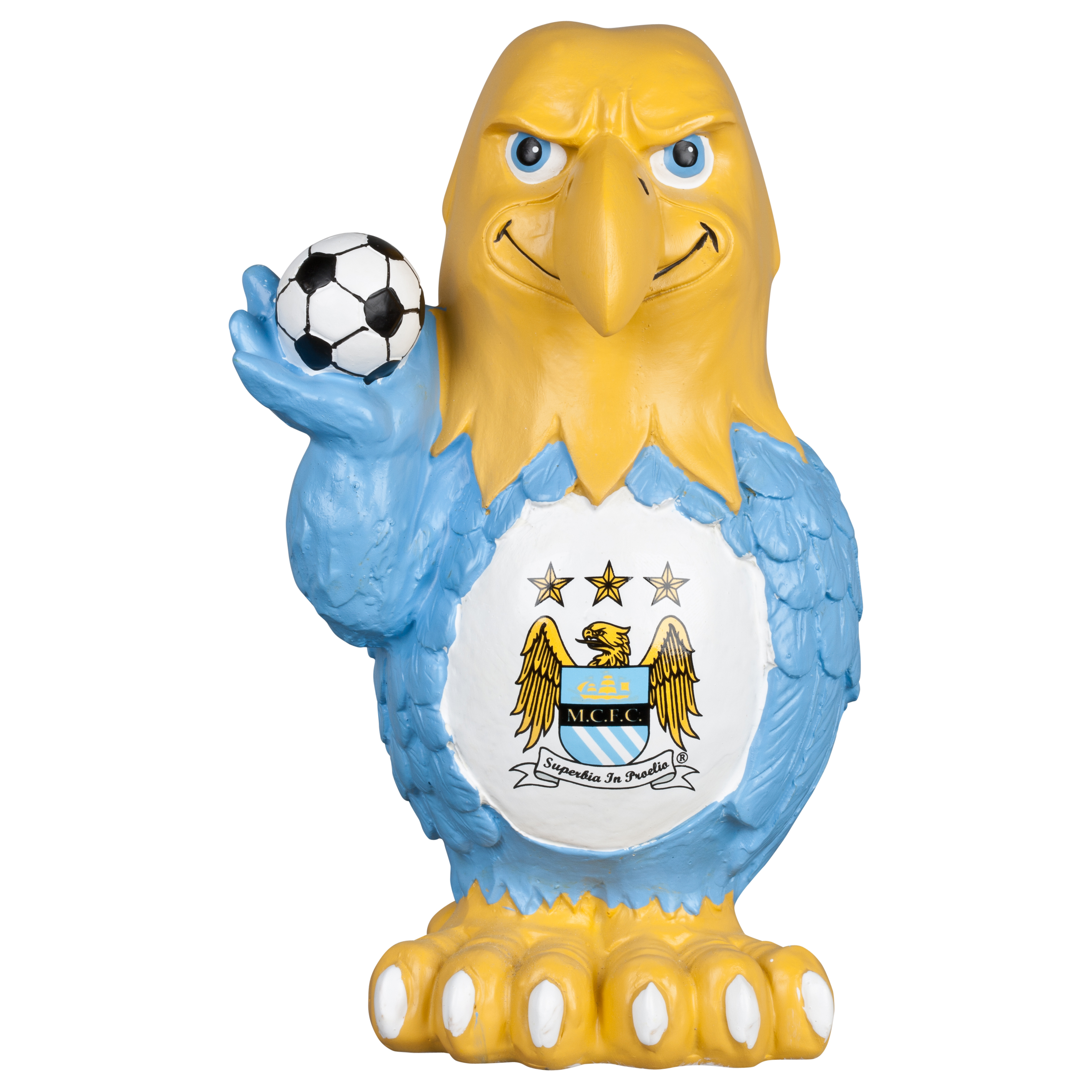 Manchester City Themed Eagle Garden Statue