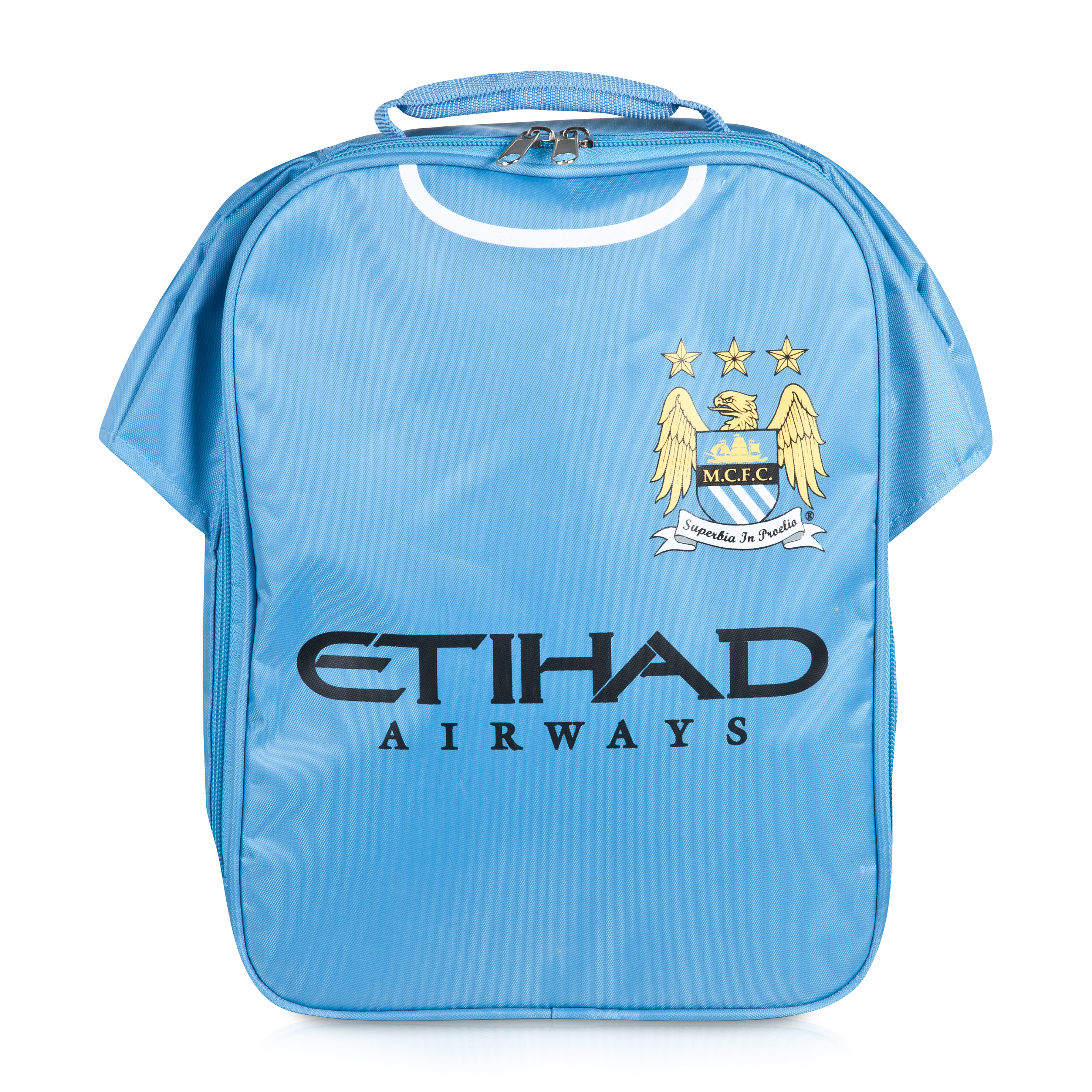 Manchester City Insulated Kit Lunch Bag - Sky