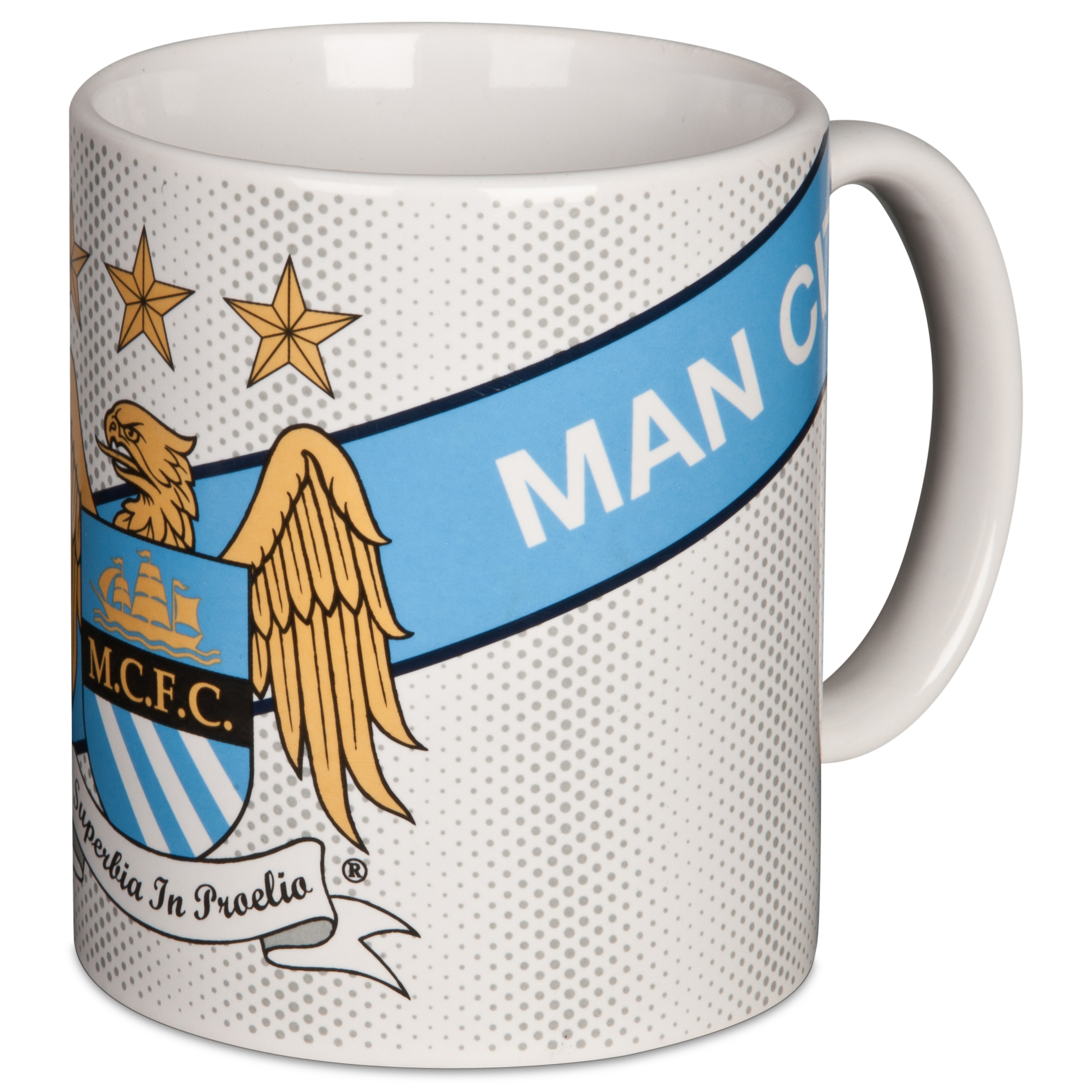 Manchester City Core Sash White SS13 11oz Mug
