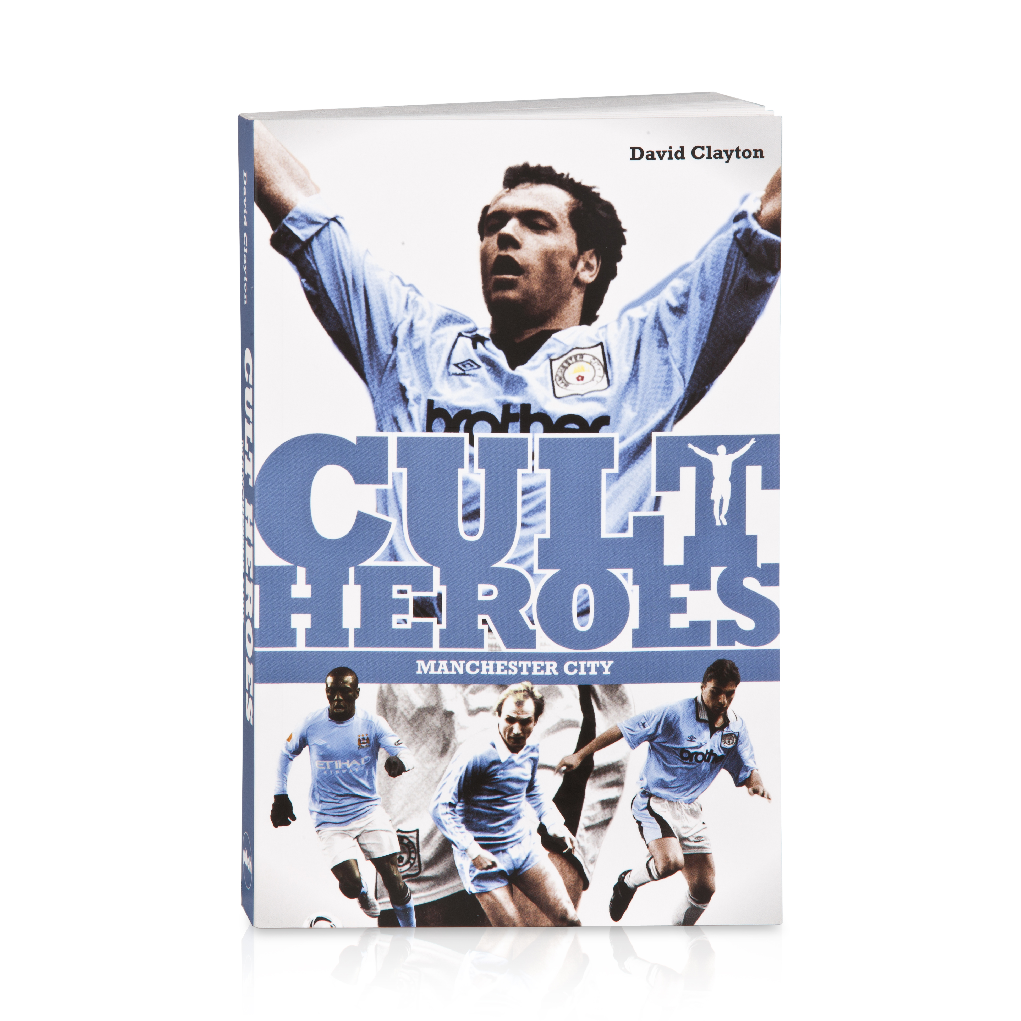 Manchester City Cult Heroes Book