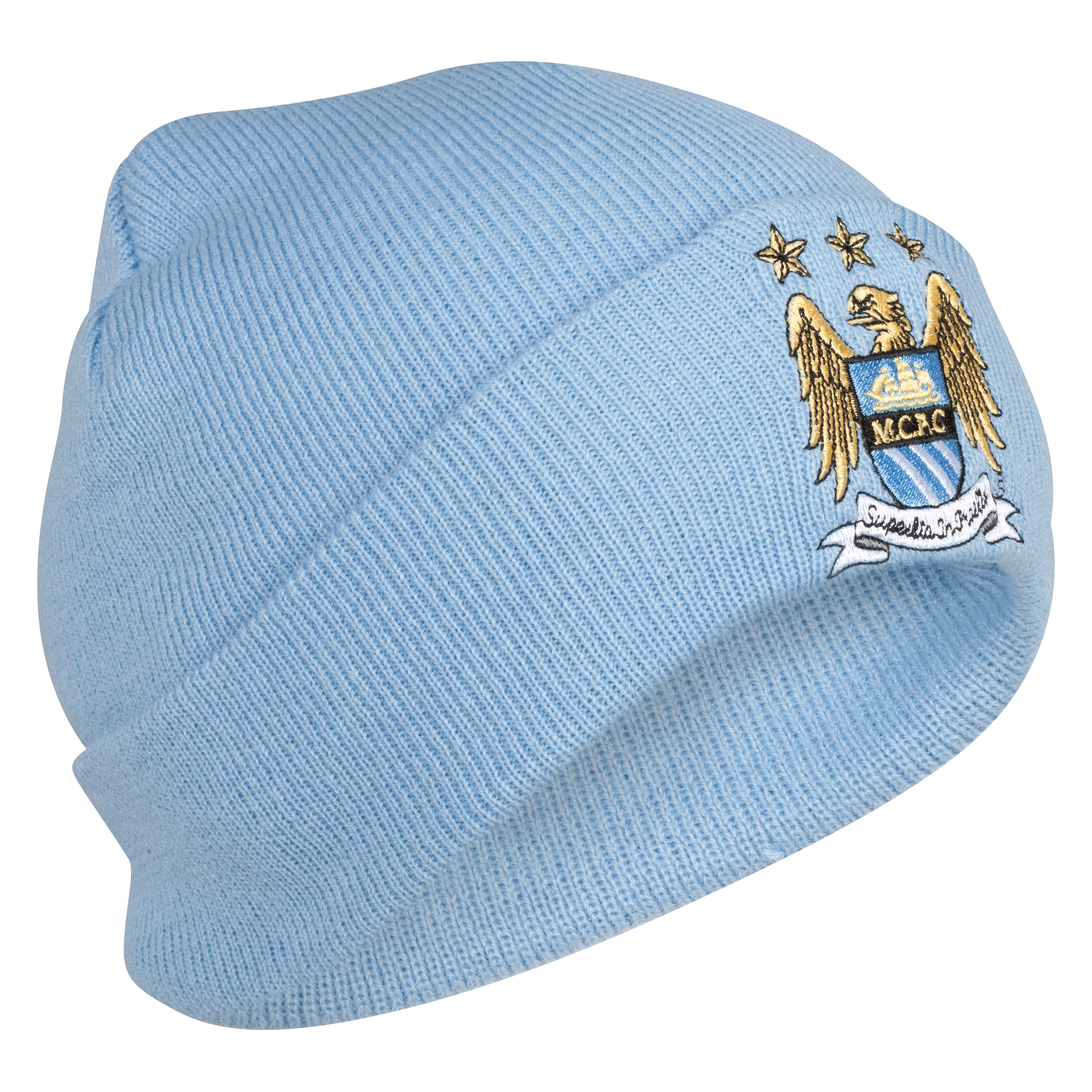 Manchester City Basic Cuff Bronx Hat – Sky