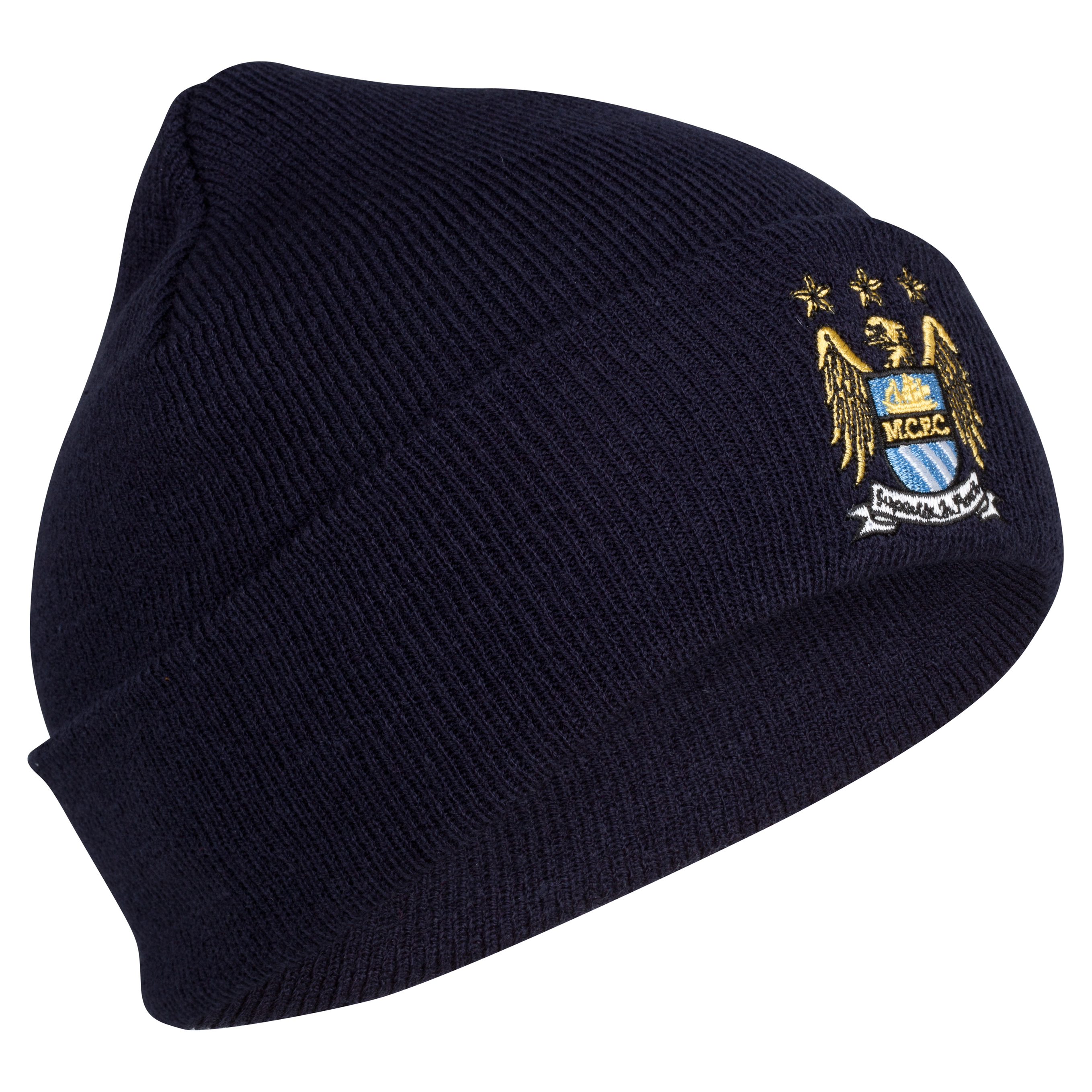 Manchester City Basic Cuff Bronx Hat – Navy