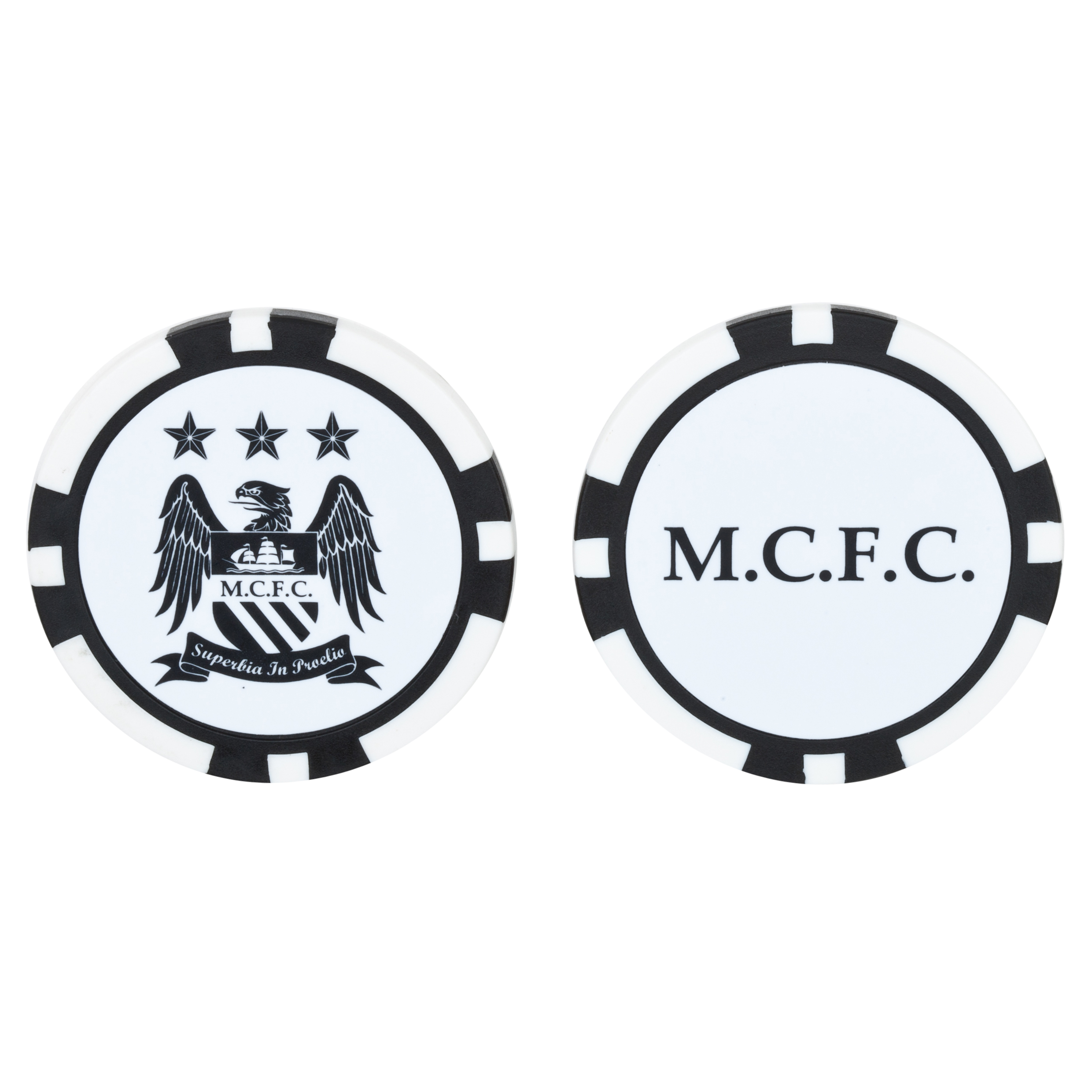 Manchester City Executive 2 Pack of Ball Marker Pokerchips