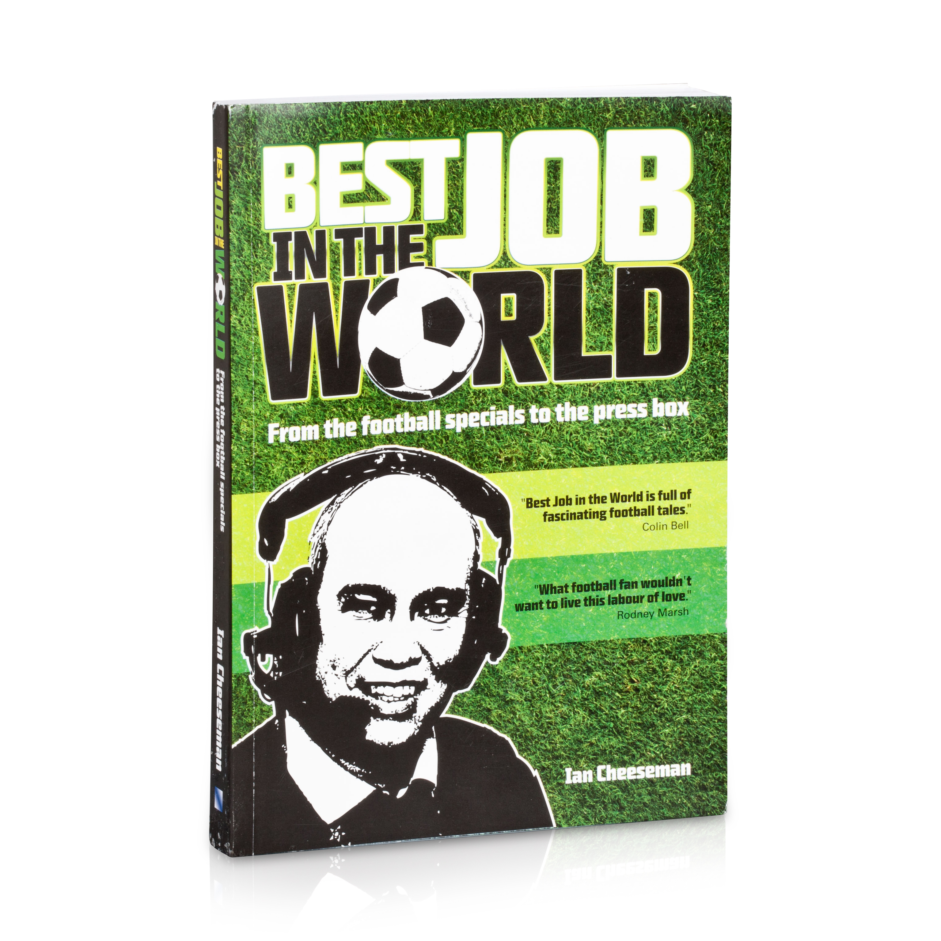 Manchester City Best Job in the World Ian Cheeseman Book
