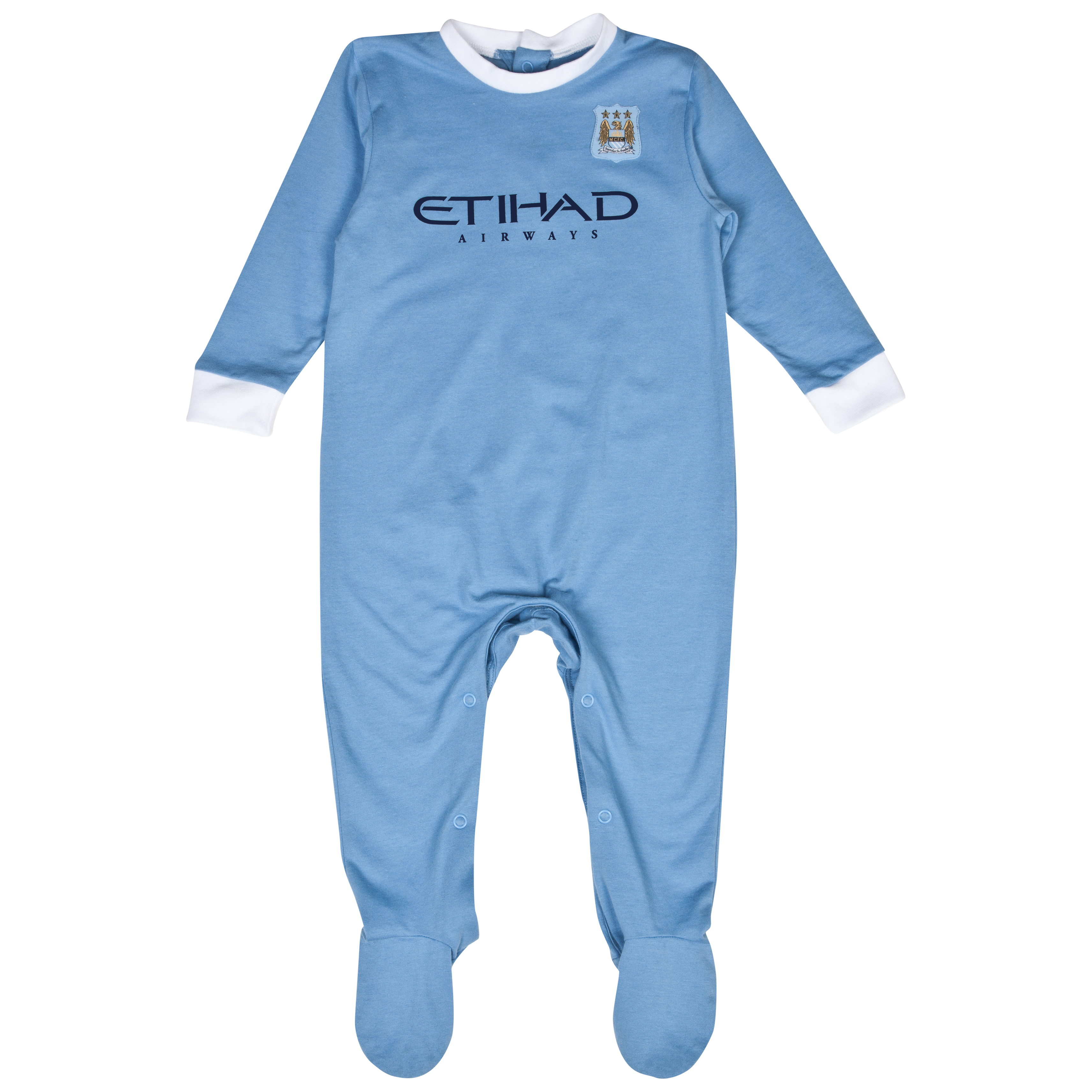 Manchester City 13/14 Kit Sleepsuit Lt Blue