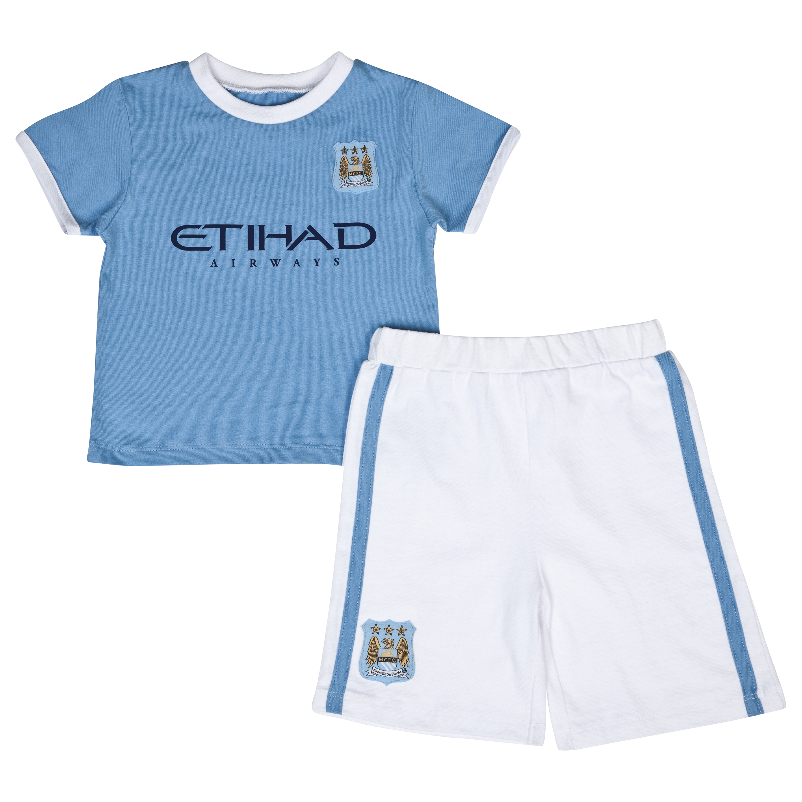 Manchester City 13/14 Kit Pyjama Lt Blue