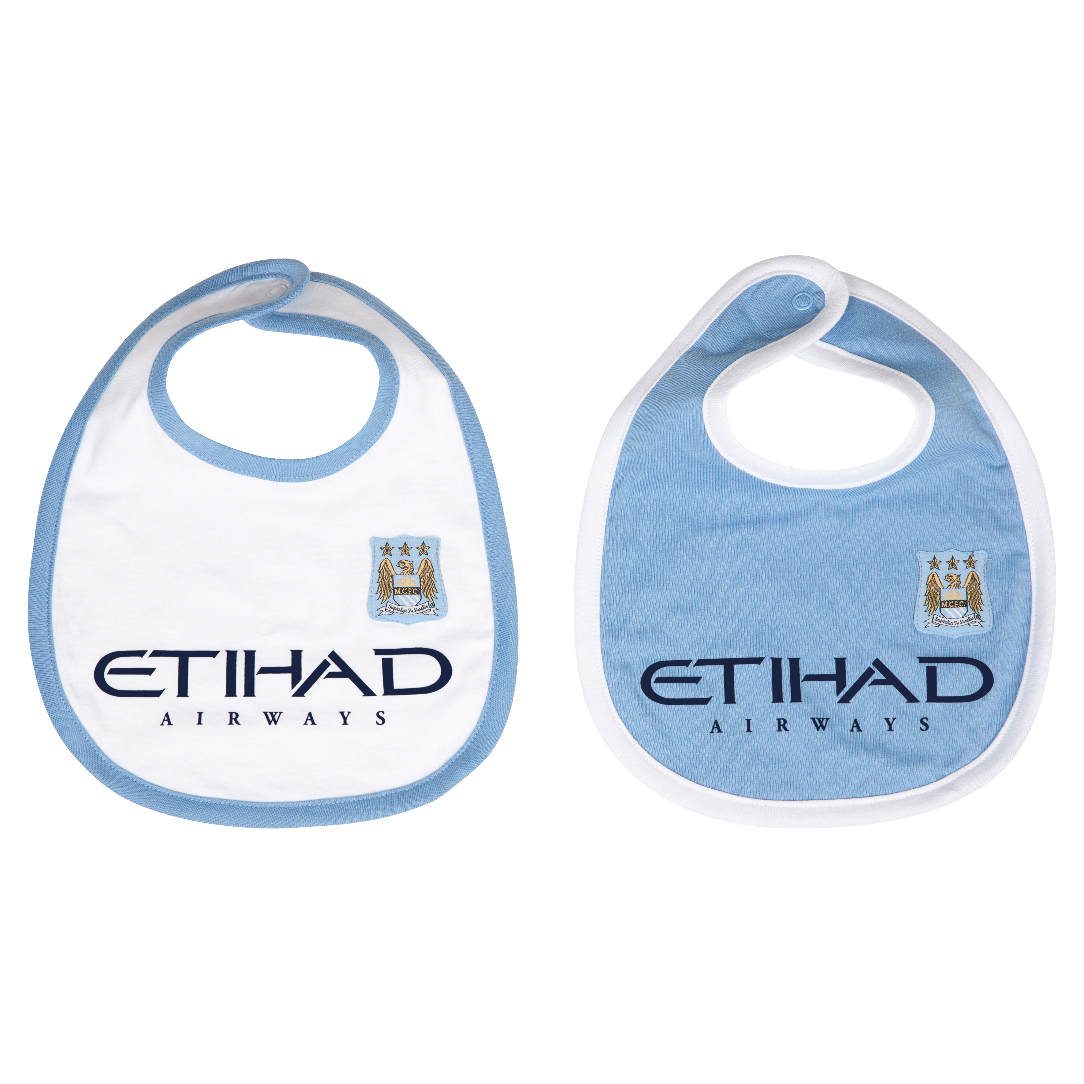 Manchester City 13/14 Kit 2Pk Bibs Lt Blue