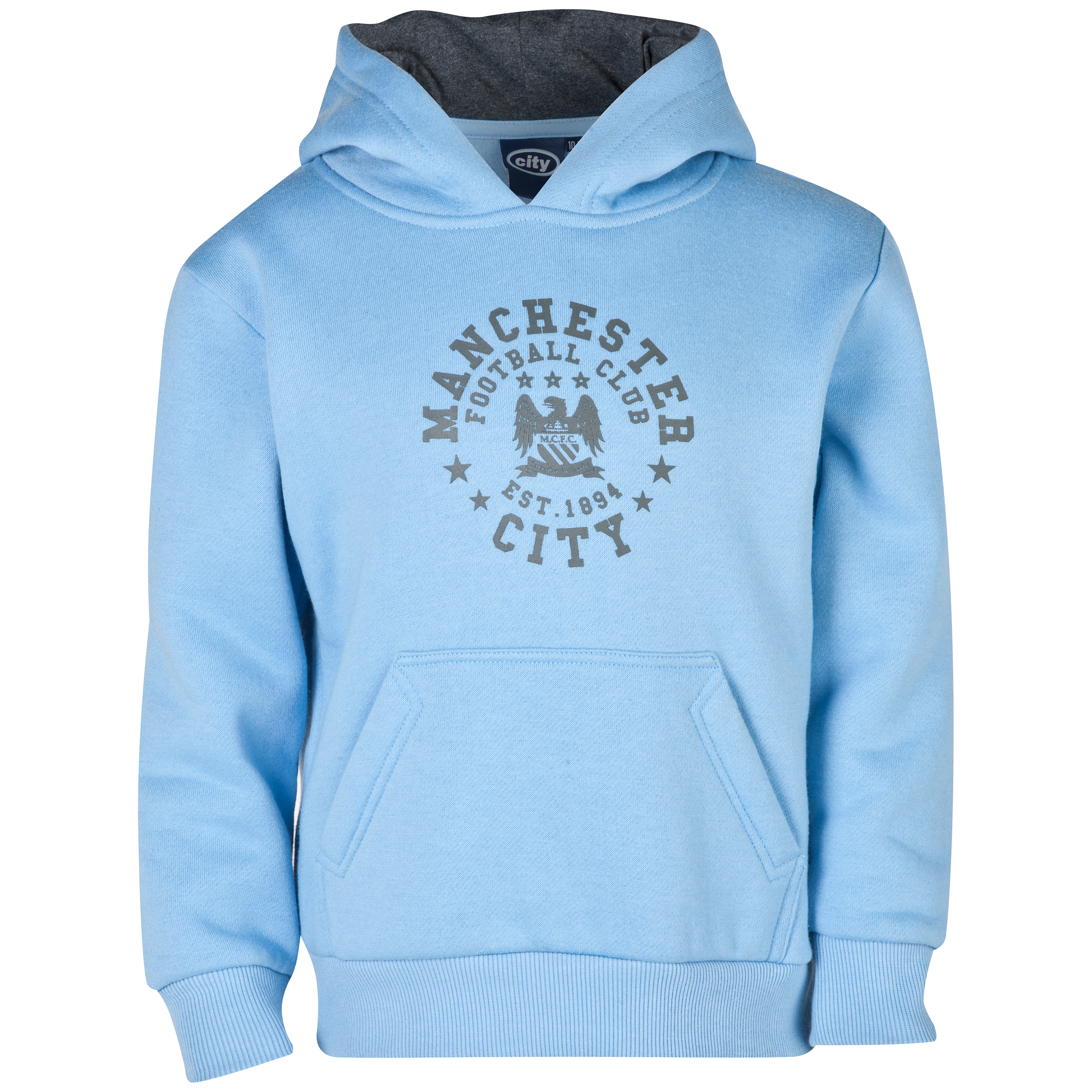 Manchester City Essentials Trail Hoody - Infant Boys Lt Blue