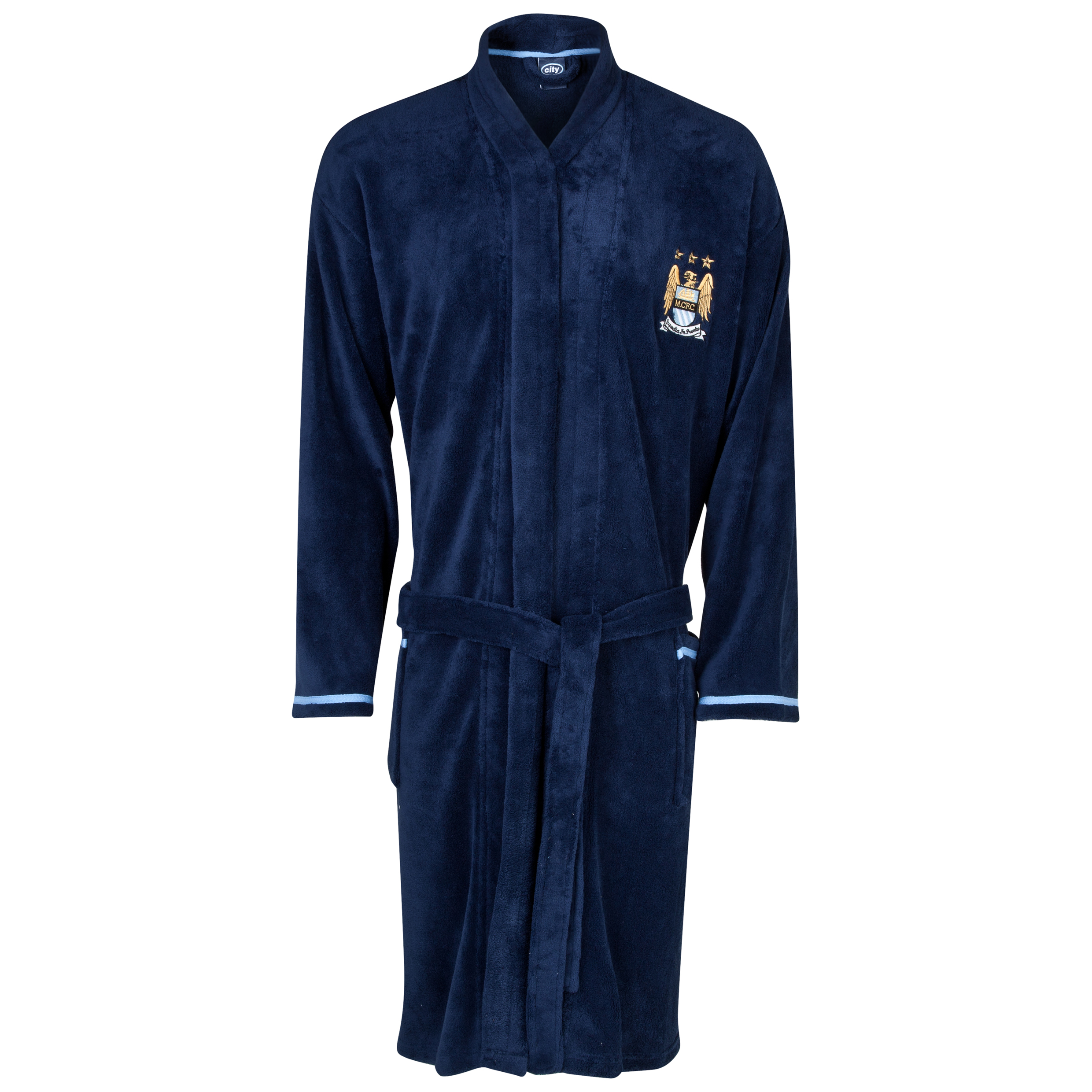 Manchester City Robe Mens Navy