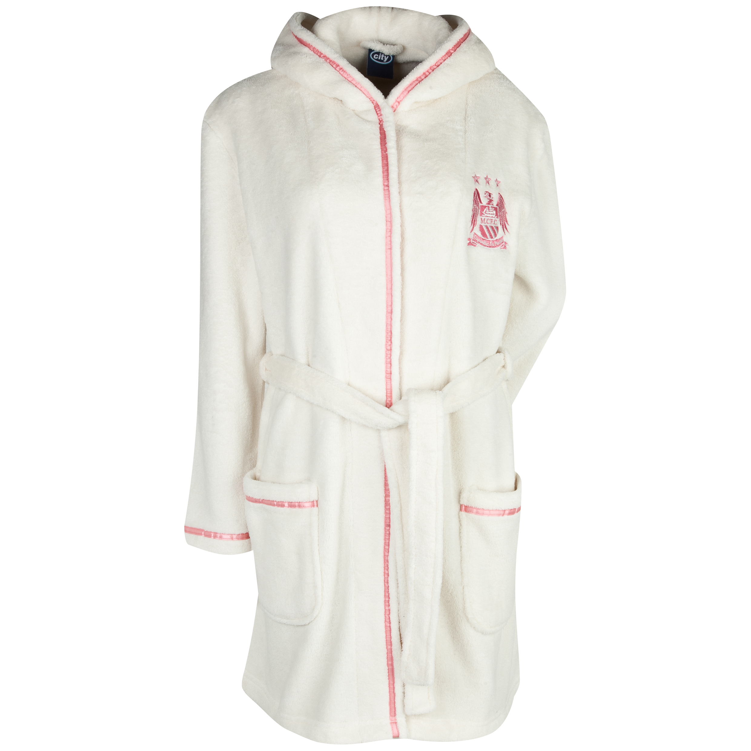 Manchester City Robe Womens Cream