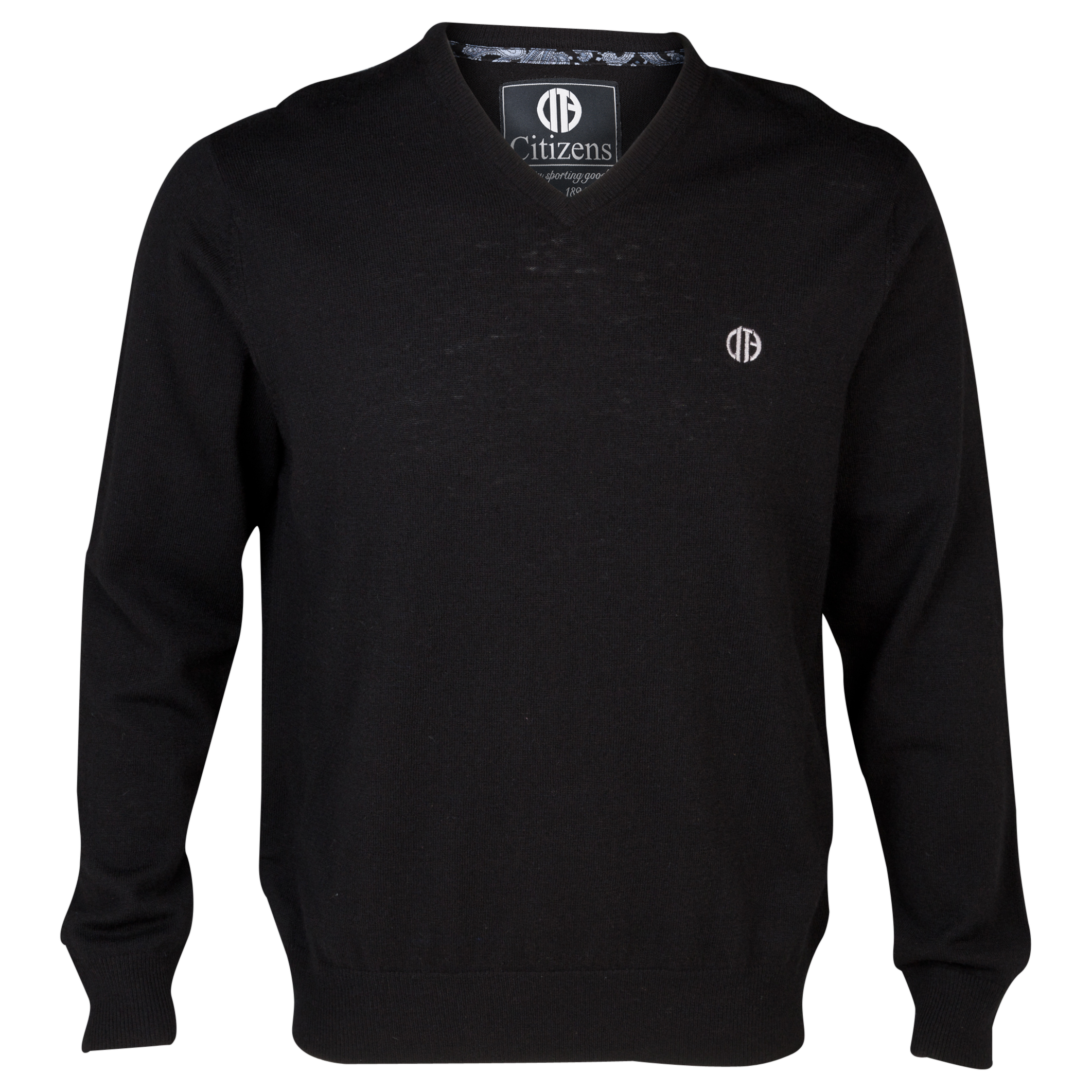 Manchester City Lambswool Jumper Black