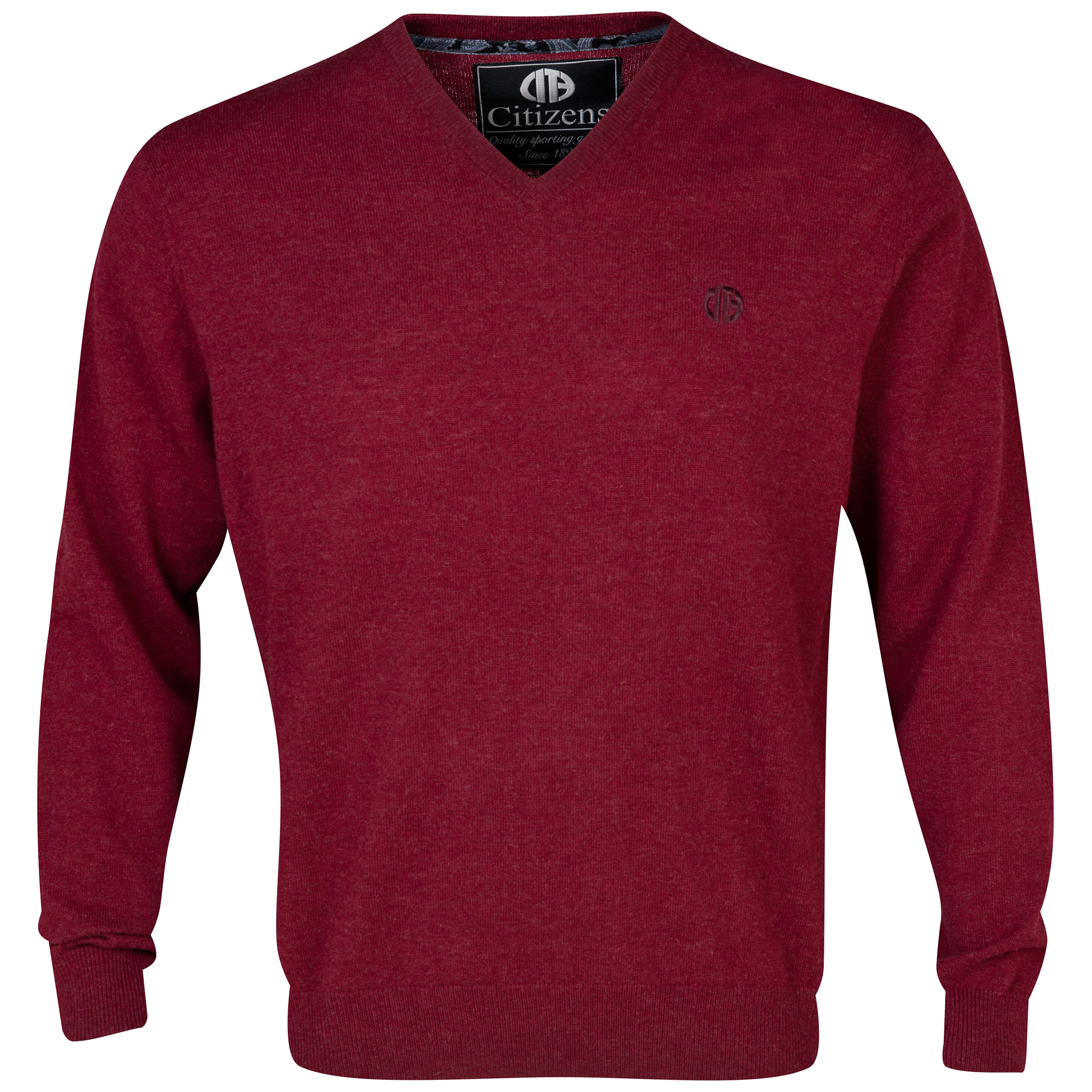Manchester City Lambswool Jumper Red