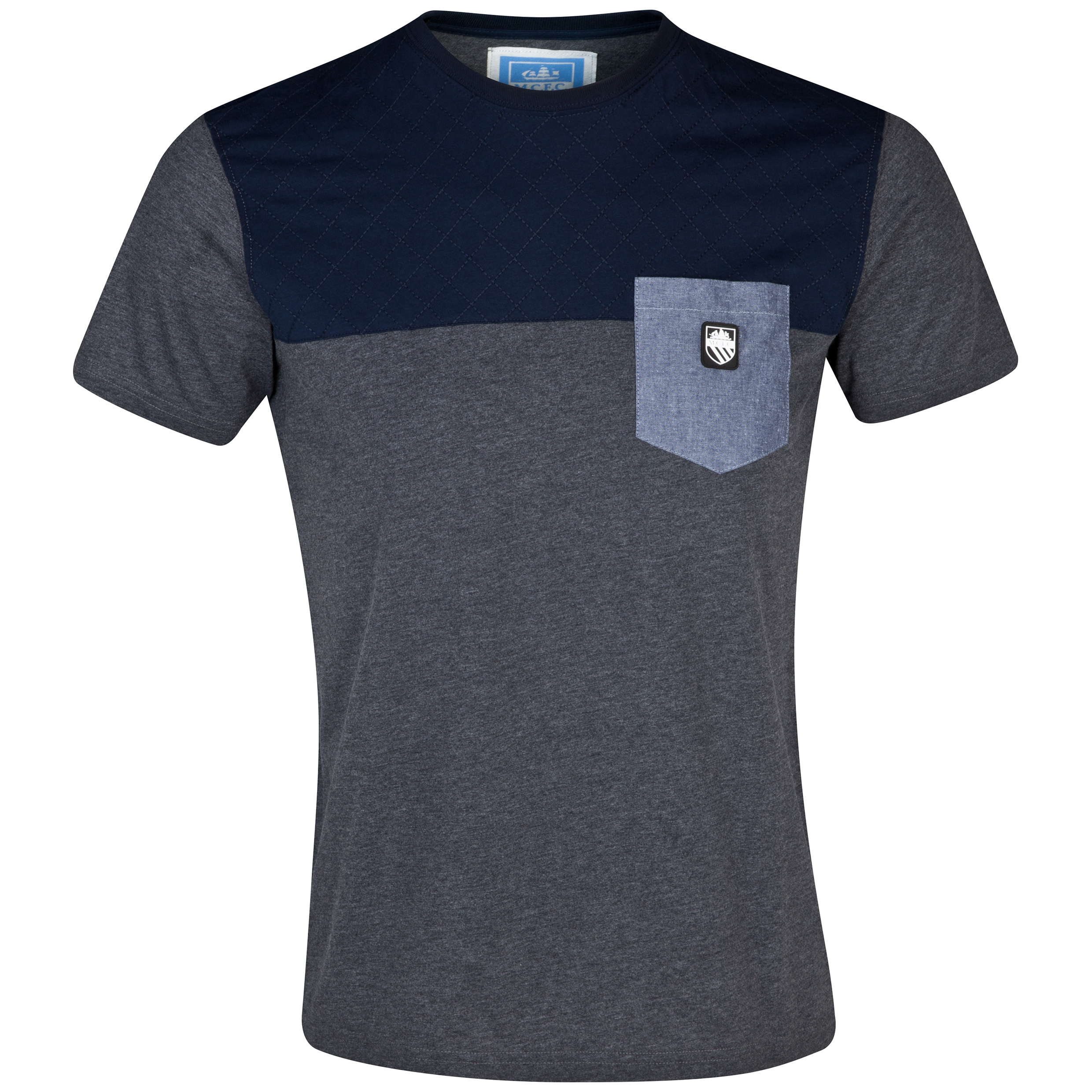 Manchester City Jackson T-Shirt - Mens Charcoal