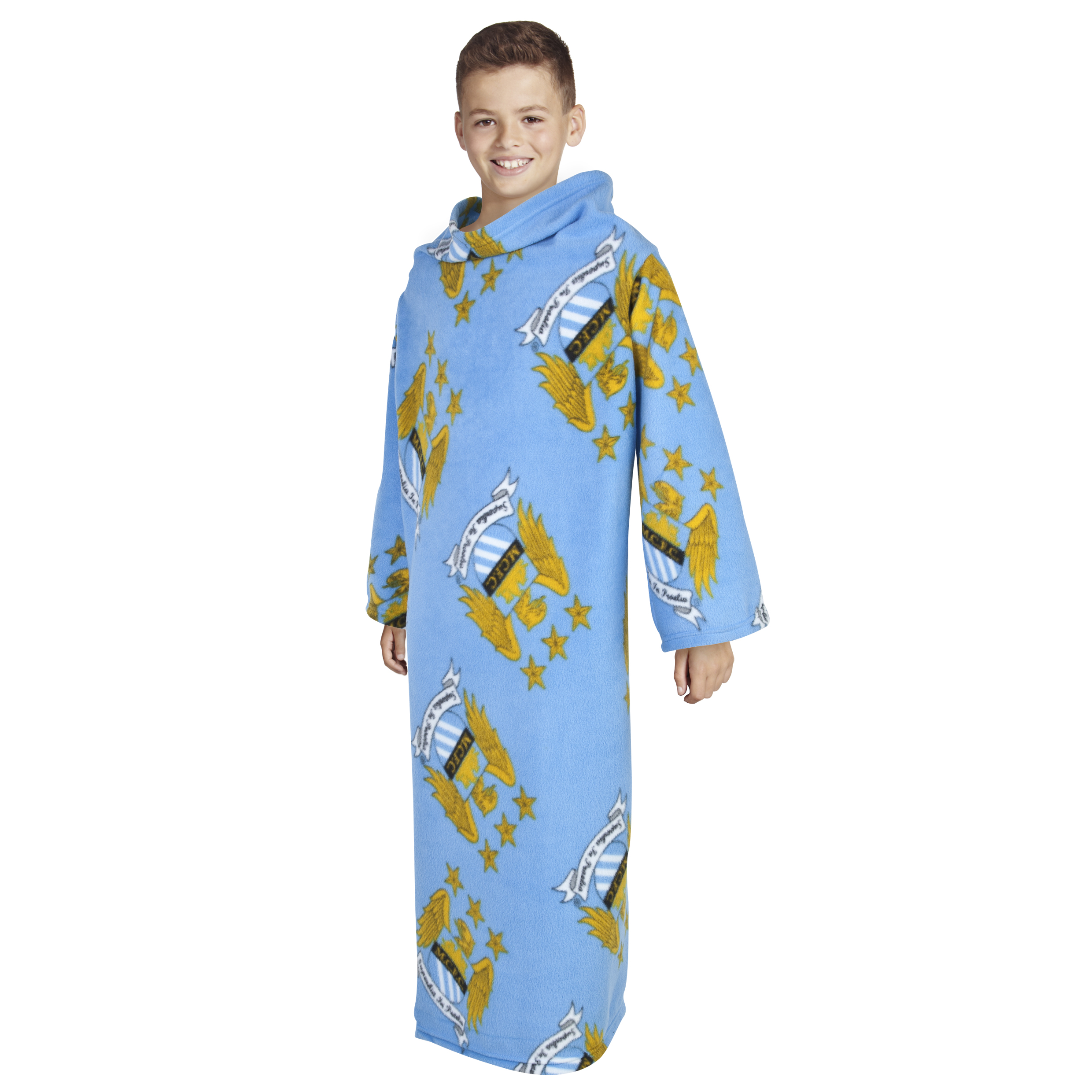 Manchester City Snuggle Fleece - Kids