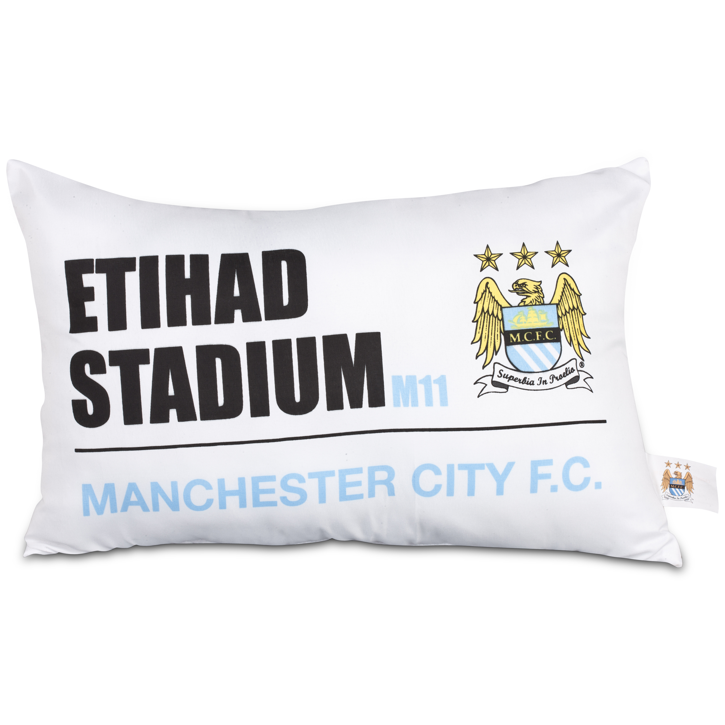 Manchester City Street Sign Cushion
