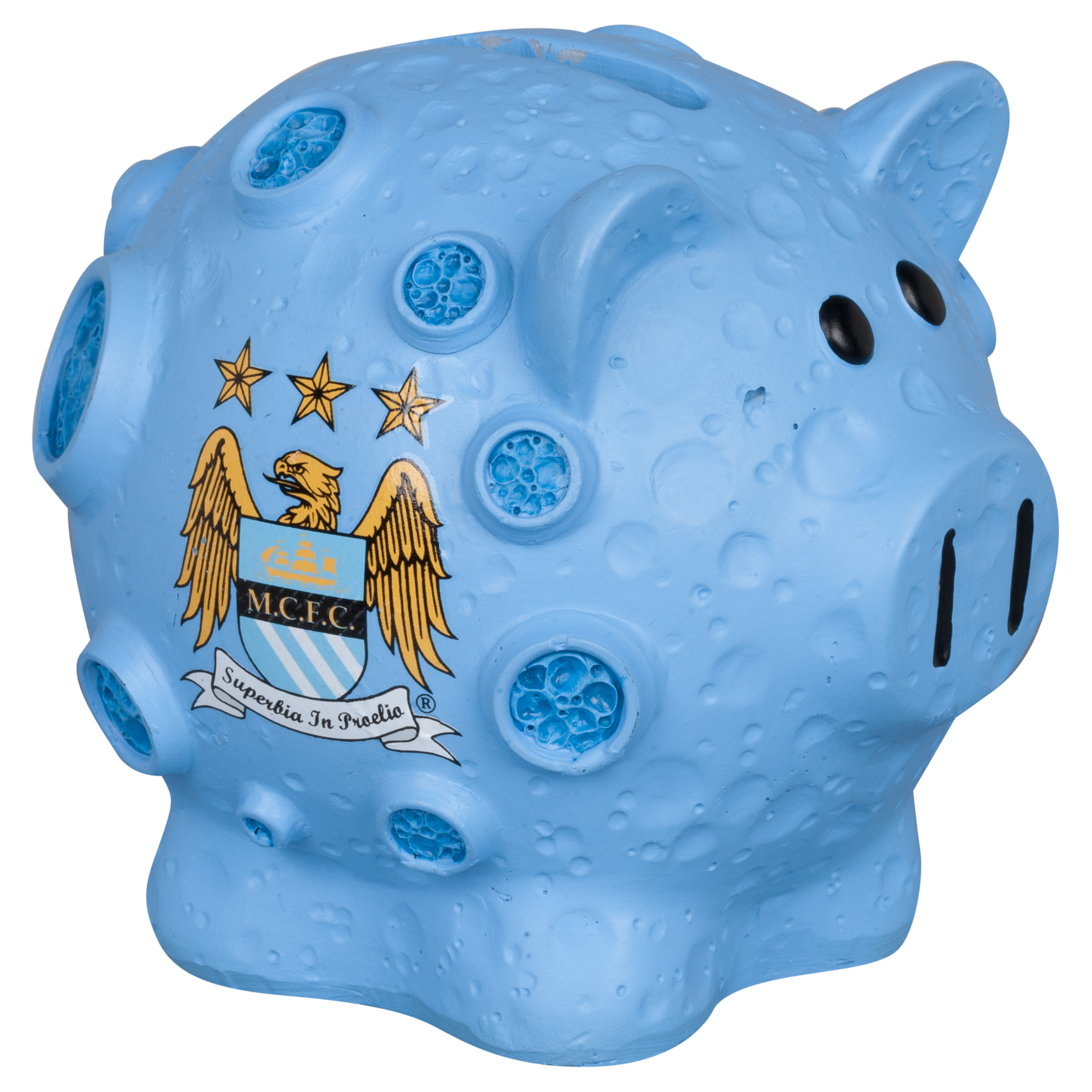Manchester City Blue Moon Small Piggy Bank - 4x4inch