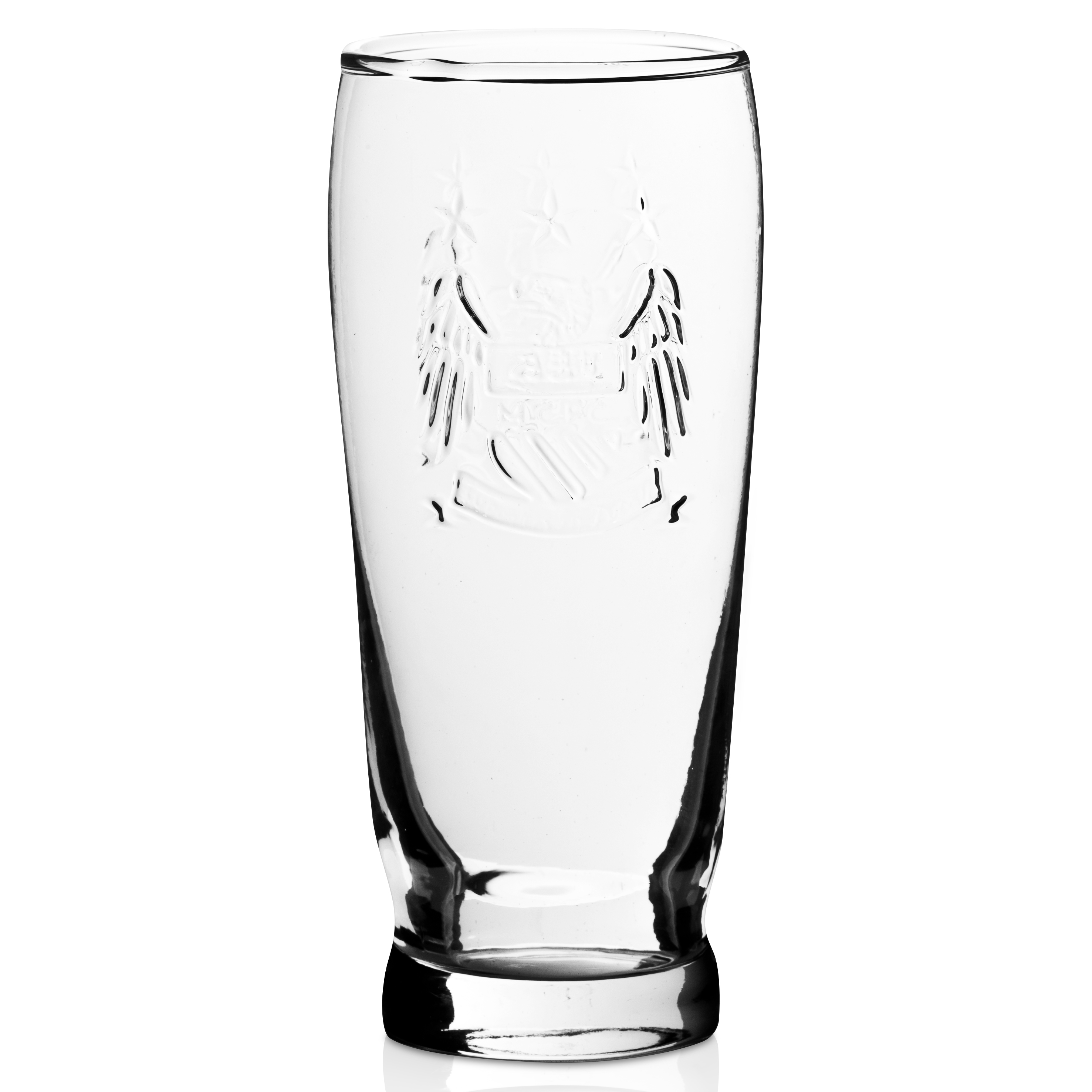 Manchester City Prestige Crest Pint Glass
